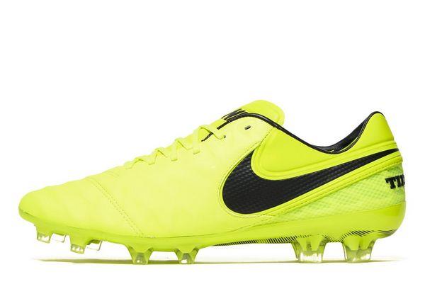 Nike Radiation Flare Tiempo Legend VI FG Men's Yellow
