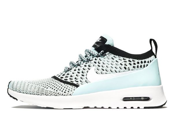 nike air max thea flyknit blue