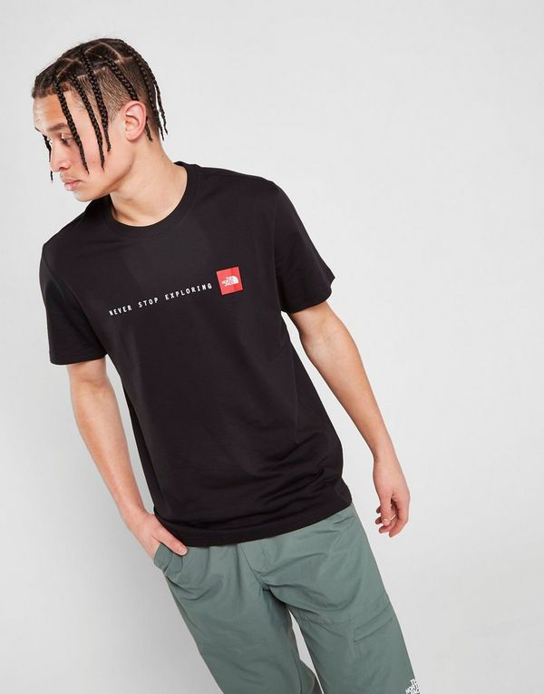 8c71a4334fe2 The North Face Never Stop Exploring T-Shirt