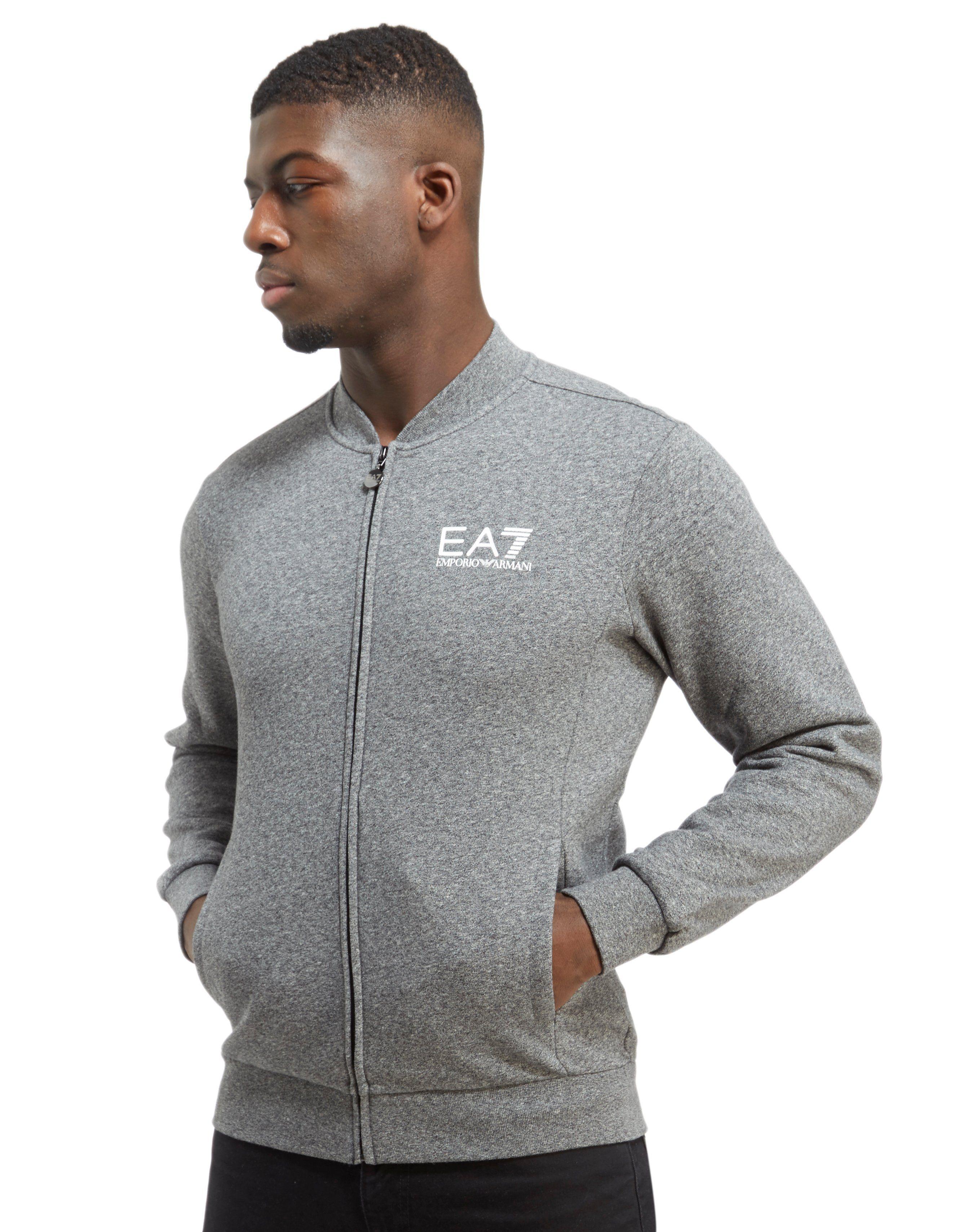 Emporio Armani EA7 Core Fleece Baseball Jacket | JD Sports