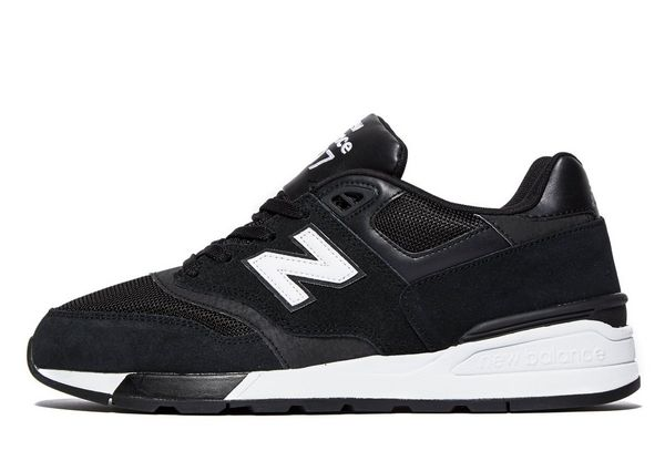Men New Balance 597 Trainers Black