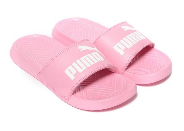 chanclas puma rosa