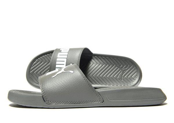 Women's Pop Cat Athletic Slide Sandals Grey 8