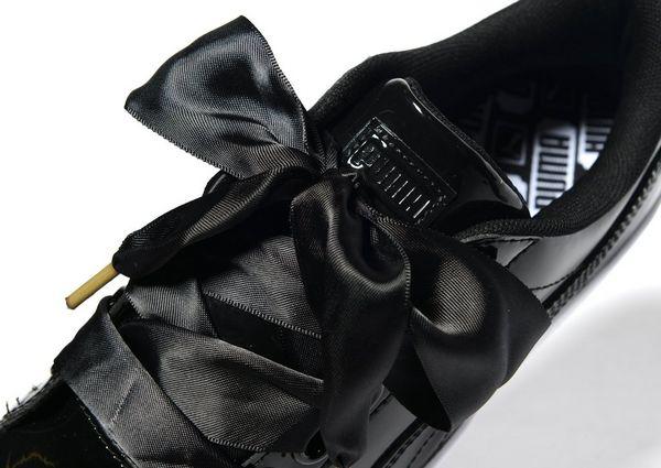 buy popular 34c6c 93d84 Puma Basket Heart Black wearpointwindfarm.co.uk