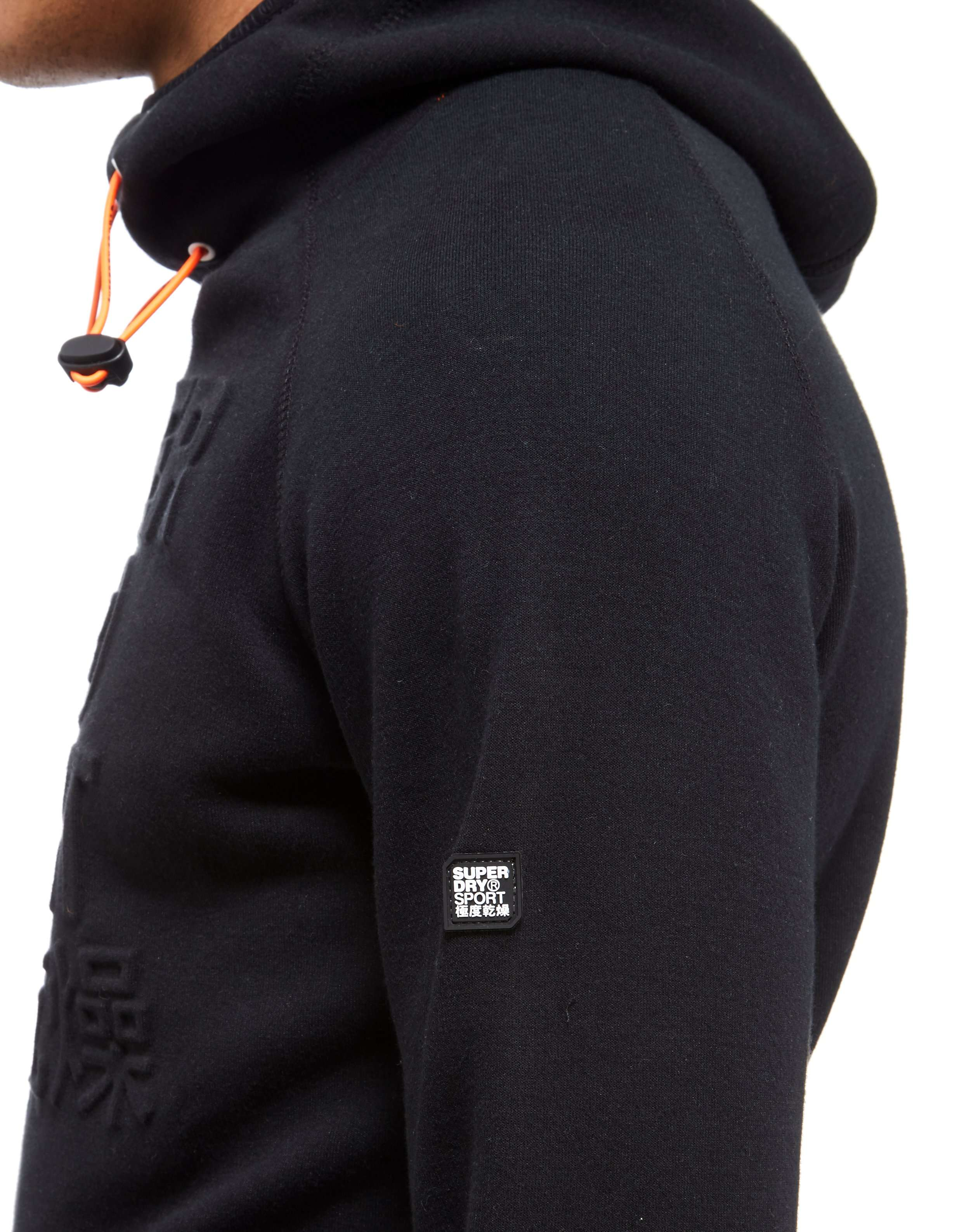 Superdry Gym Tech Embossed Hoody