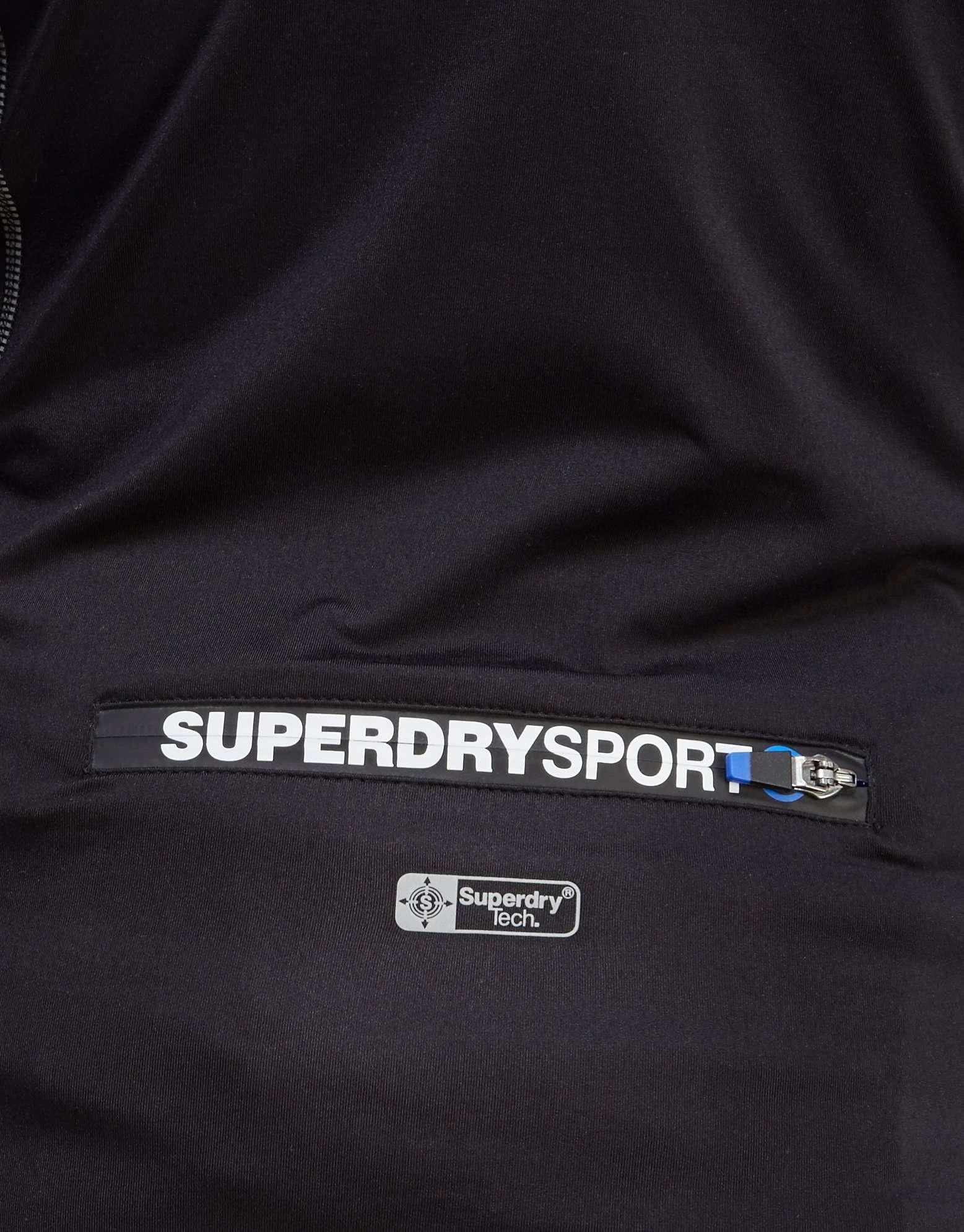 Superdry Sports Athletic Panel Zip Hoody