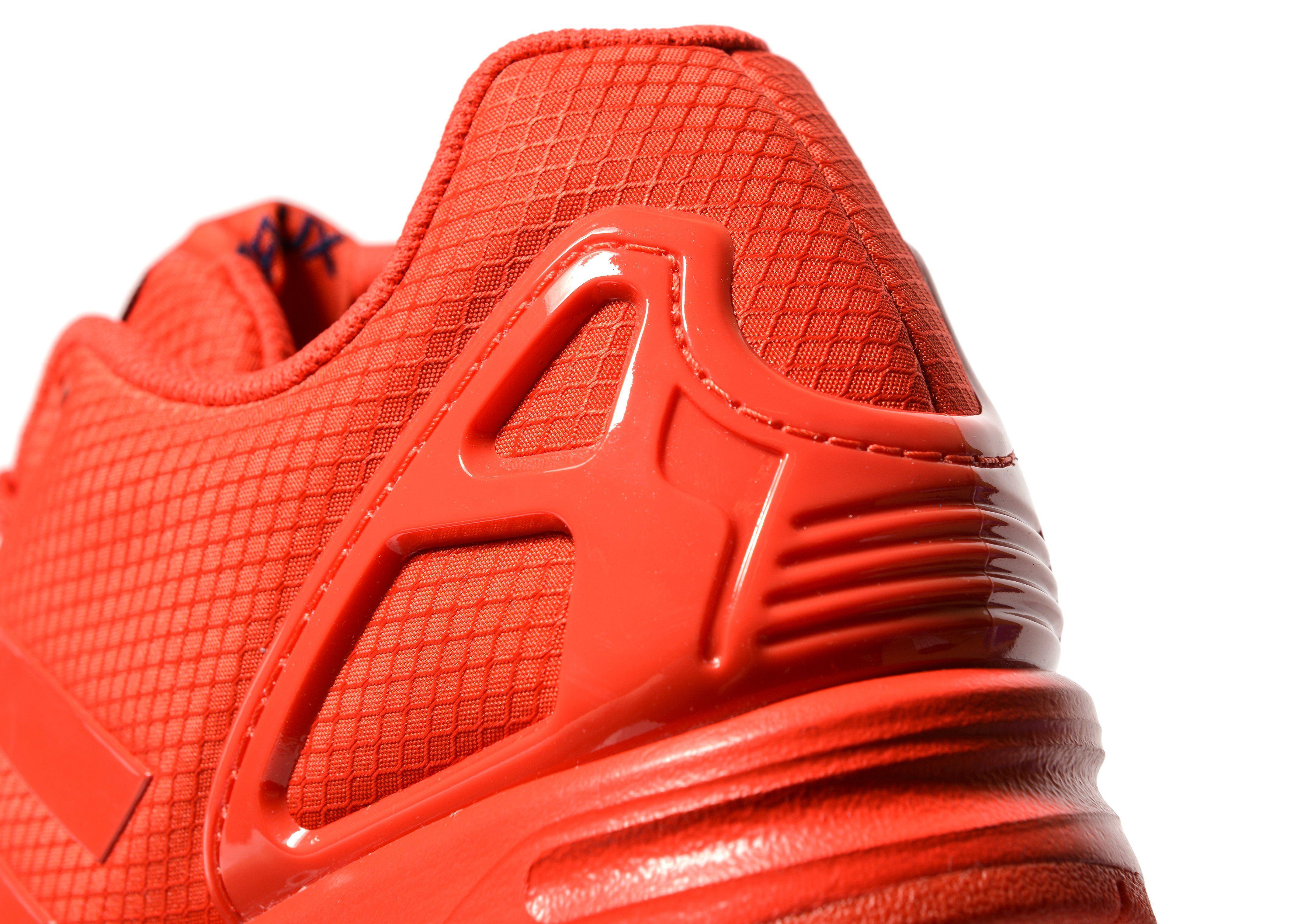 Adidas zx flusso rosso e nero, jack natale