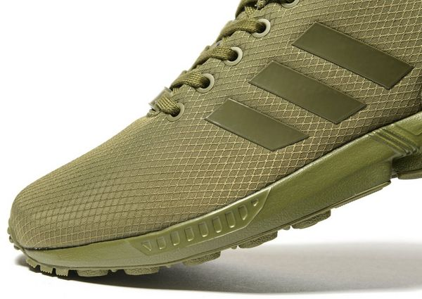 the latest 703f5 adb23 adidas zx flux khaki christmas