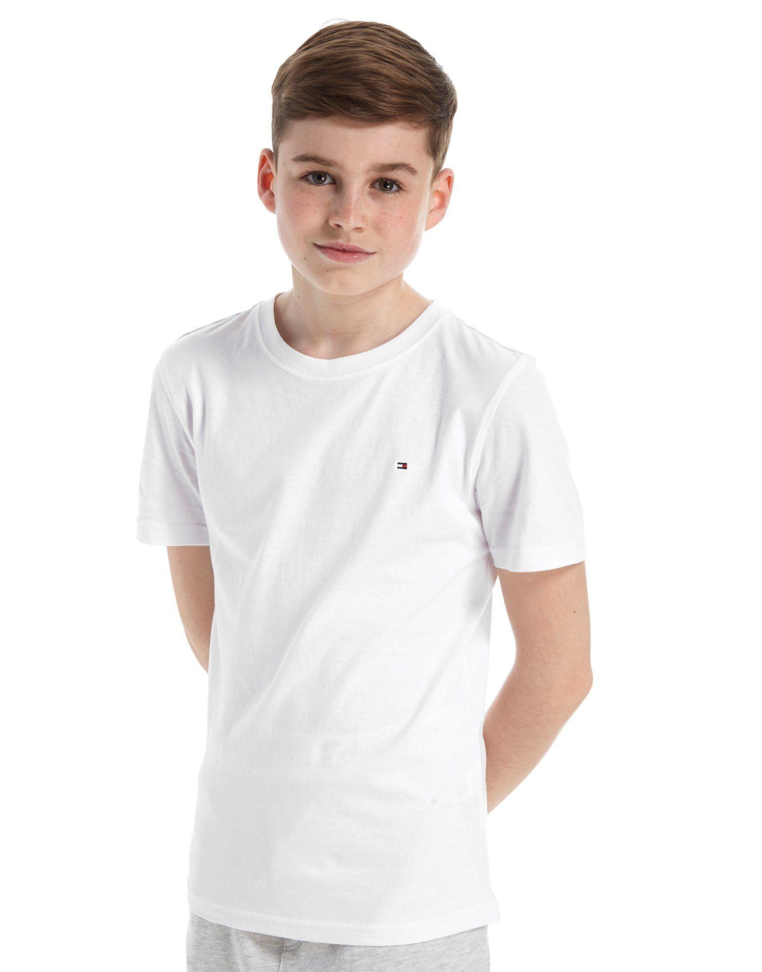 389f528e9 Tommy Hilfiger Small Flag T-Shirt Junior