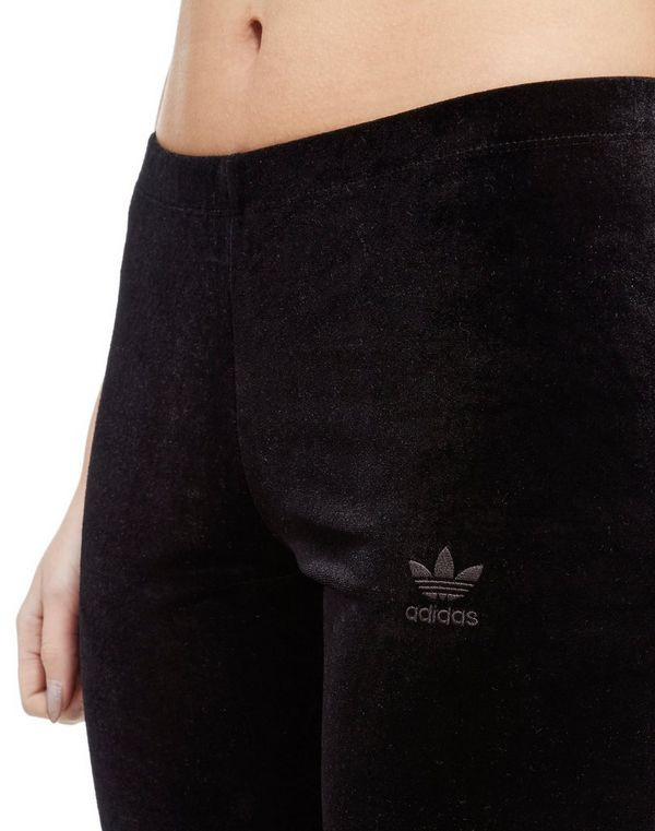 adidas velvet leggings