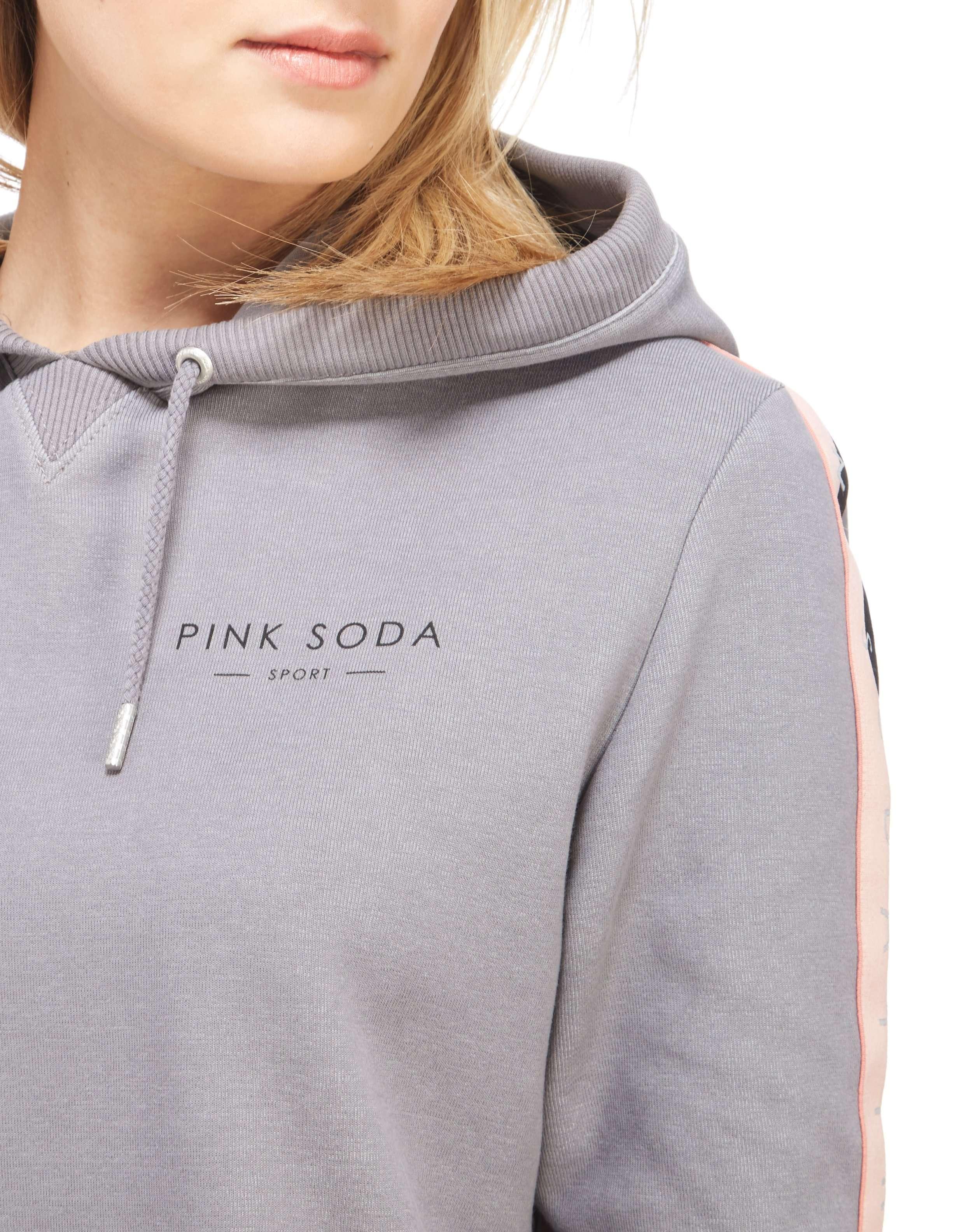 Pink Soda Sport Boxy Crop Overhead Hoody