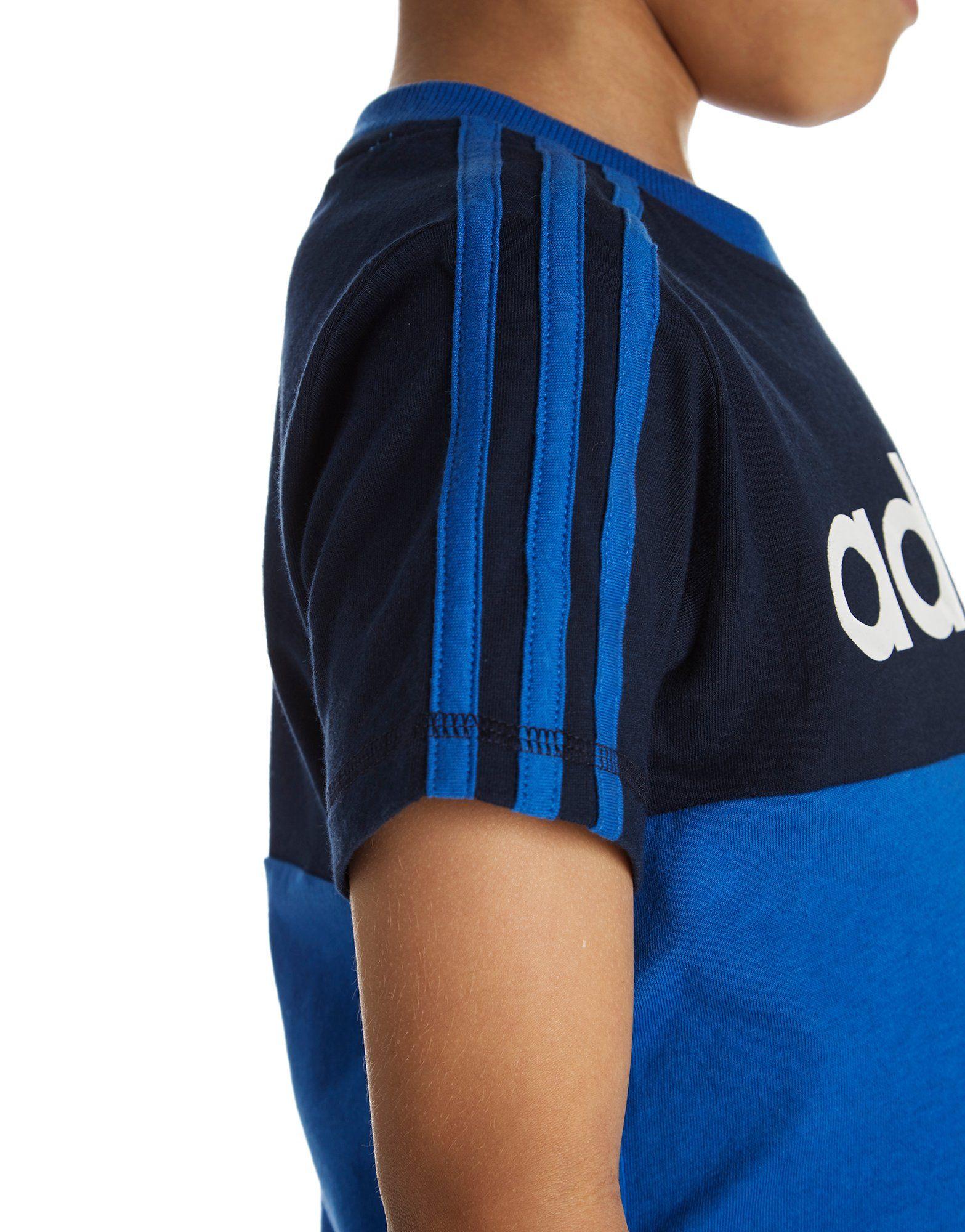 adidas Linear T-Shirt/Shorts Set Children