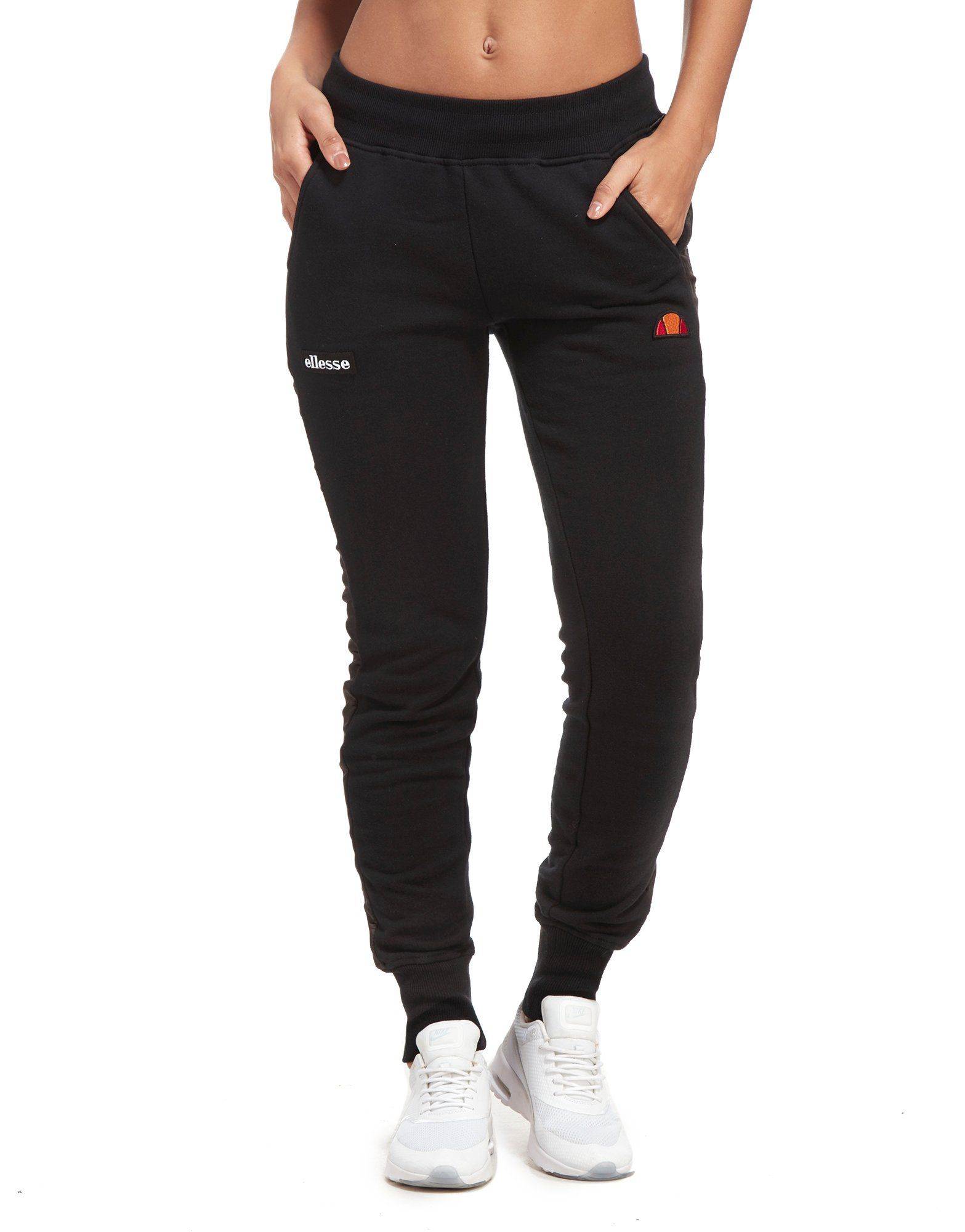 Ellesse Satin Panel Fleece Pants