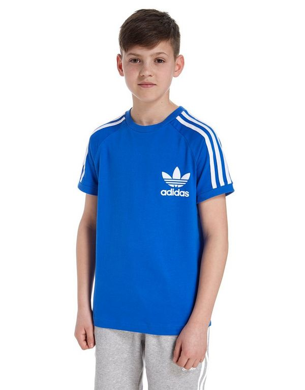 adidas california t shirt blau