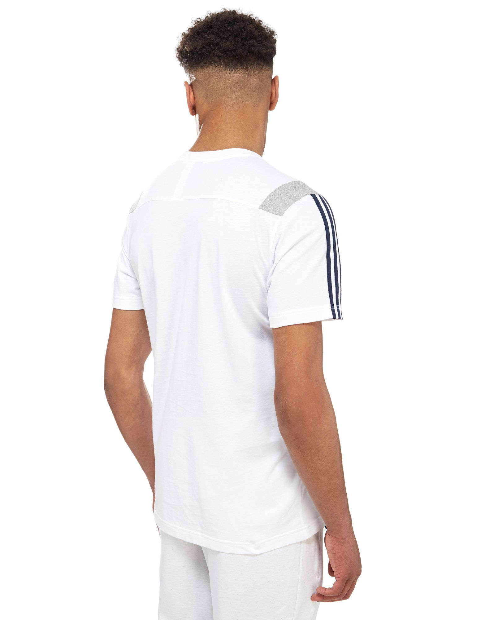 adidas 3-Stripe Essential Colour Block T-Shirt
