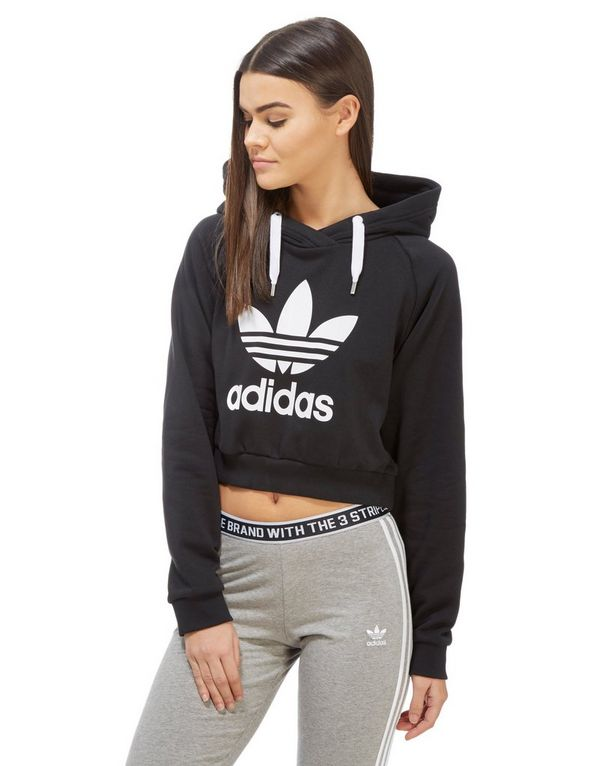 adidas trf crop sweatshirt