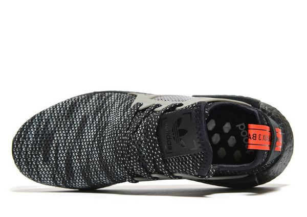 Wholesale Adidas NMD XR1 Contrast Stitch Core Black & Solar Red
