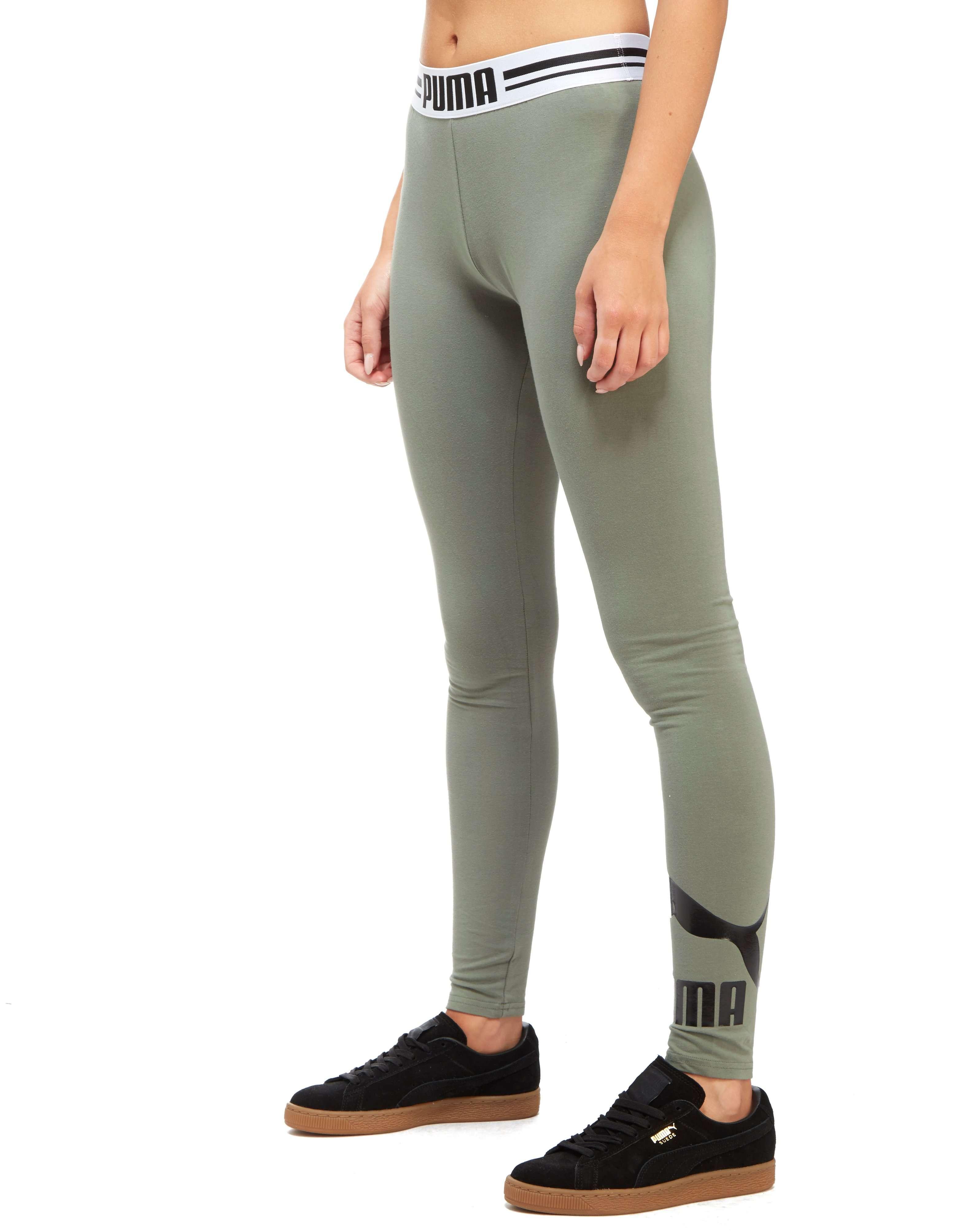 puma leggings grün