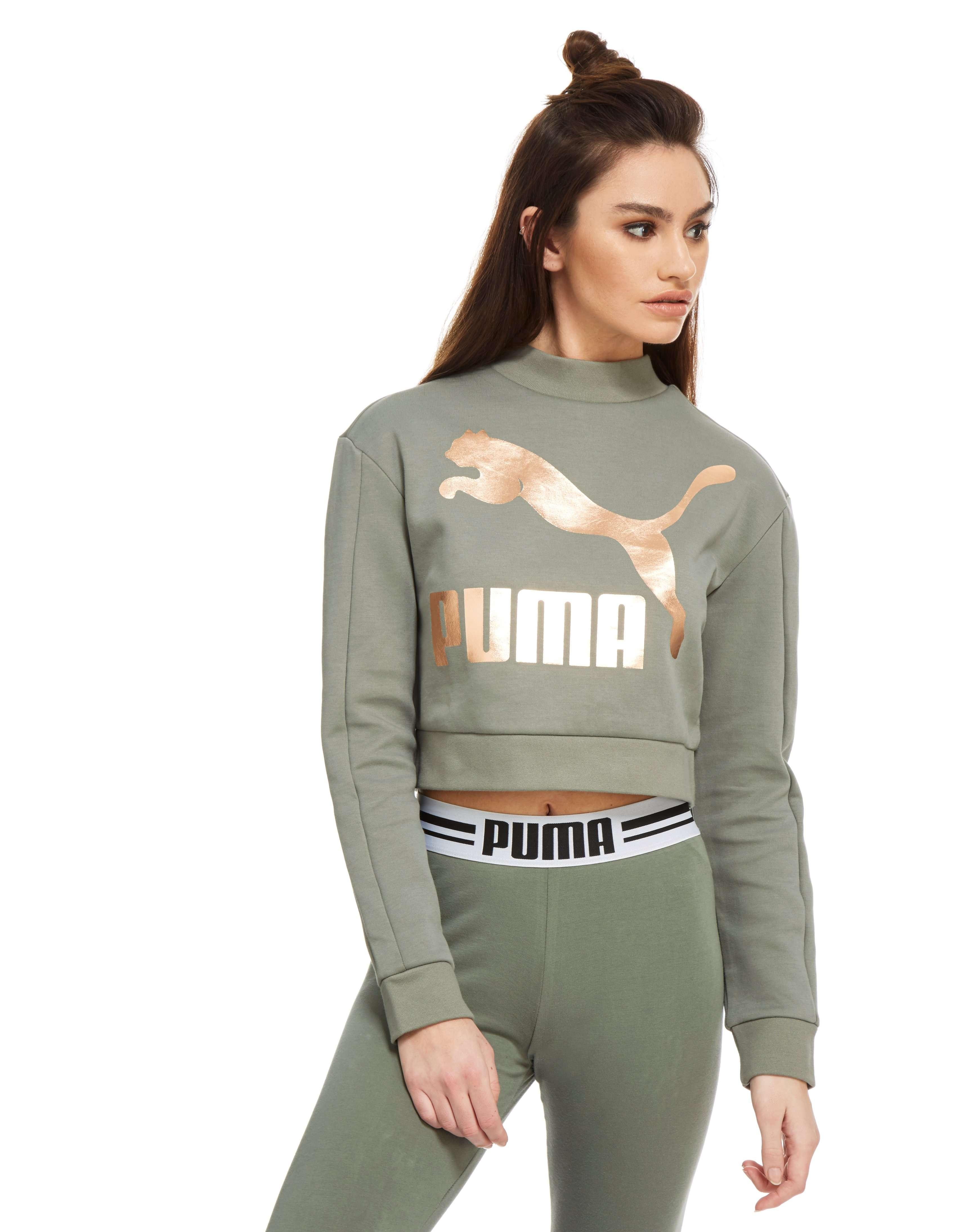 PUMA Sweatshirt High Neck Crew Femme