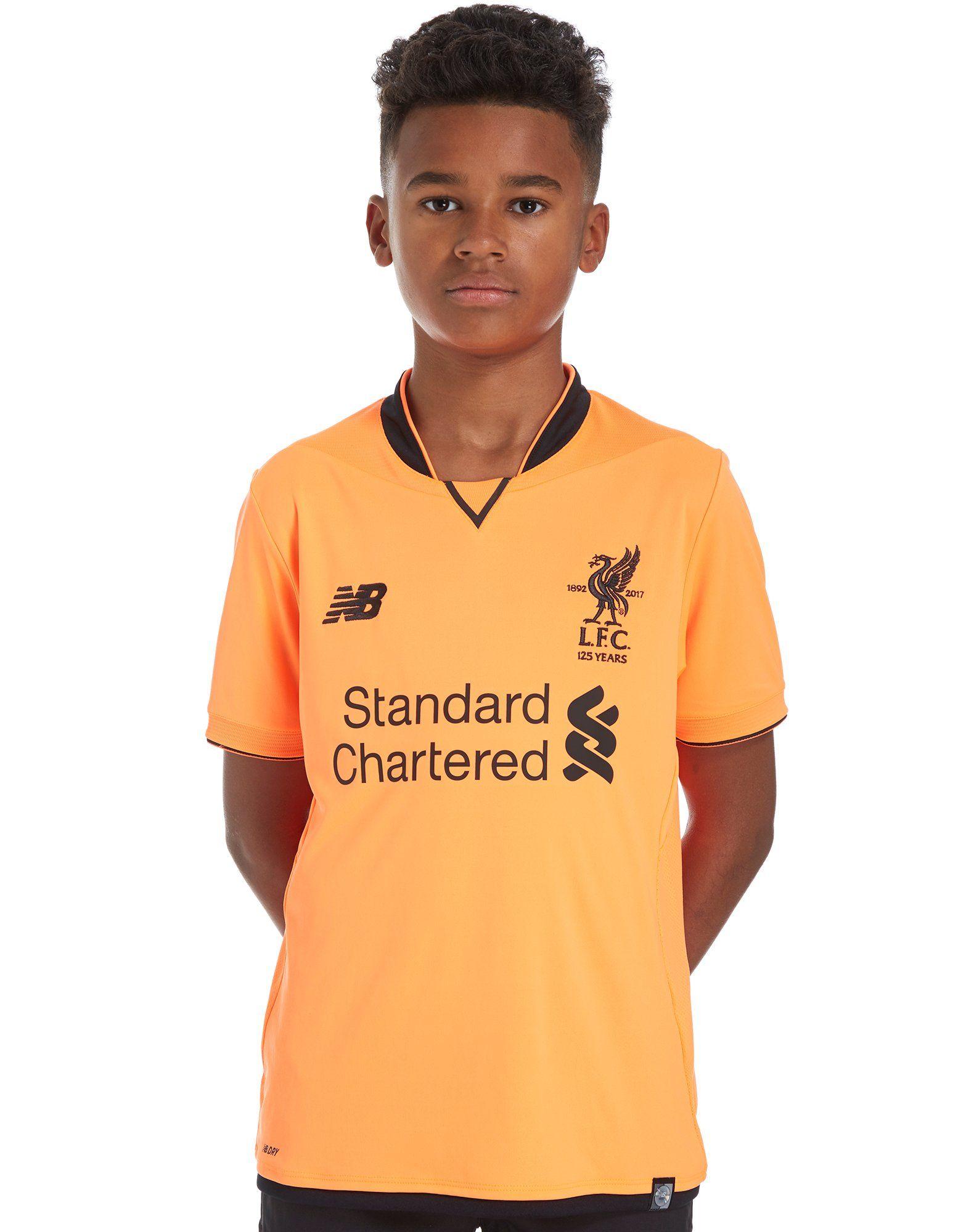 New Balance Liverpool FC 2017/18 Terza Maglia Junior