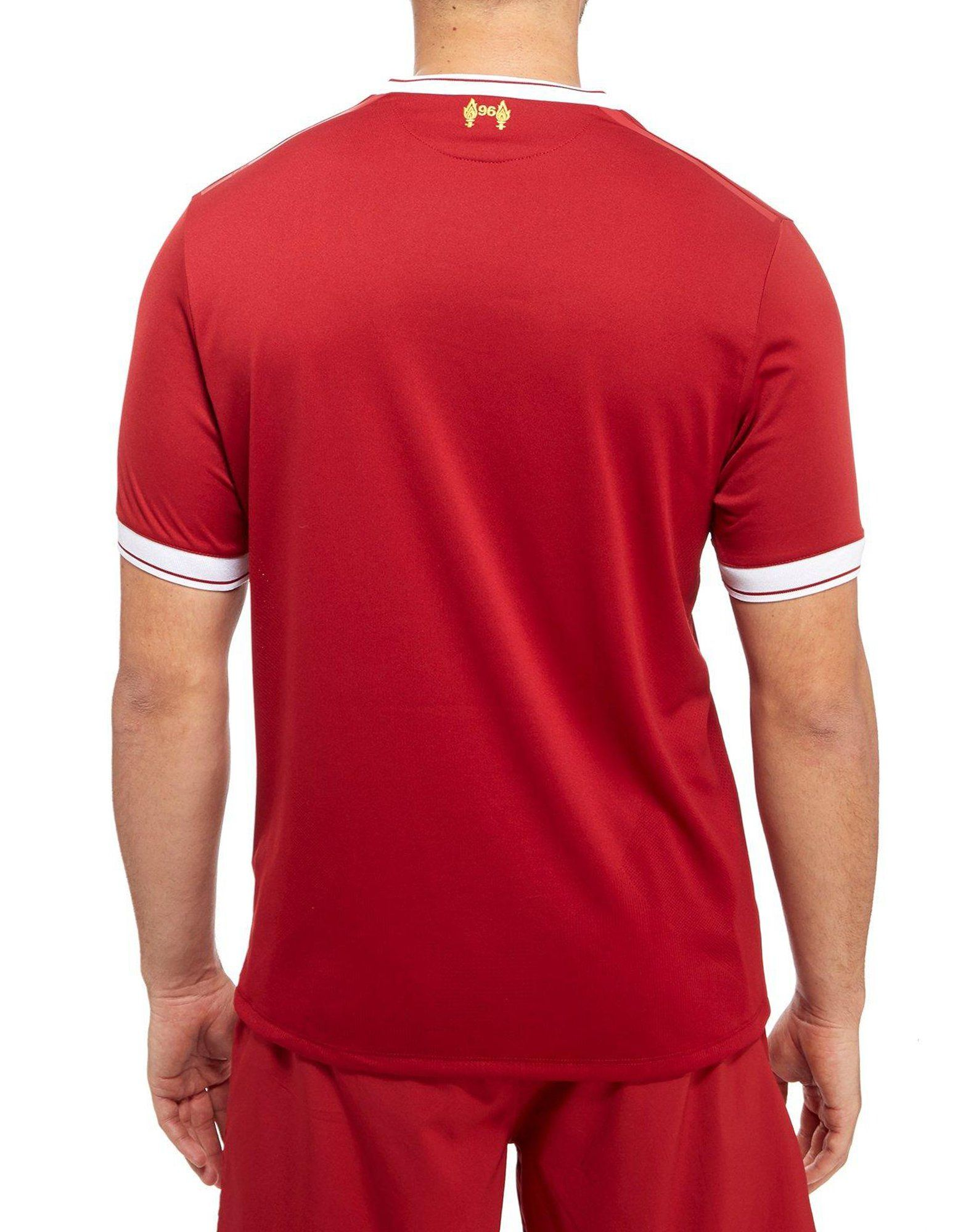 New Balance Liverpool FC 2017/18 Home Shirt Rot