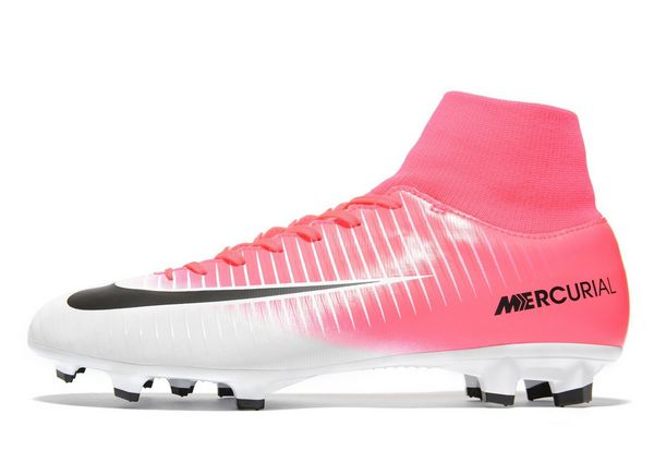 Nike Motion Blur Mercurial Victory DF Firm Ground Men's Pink