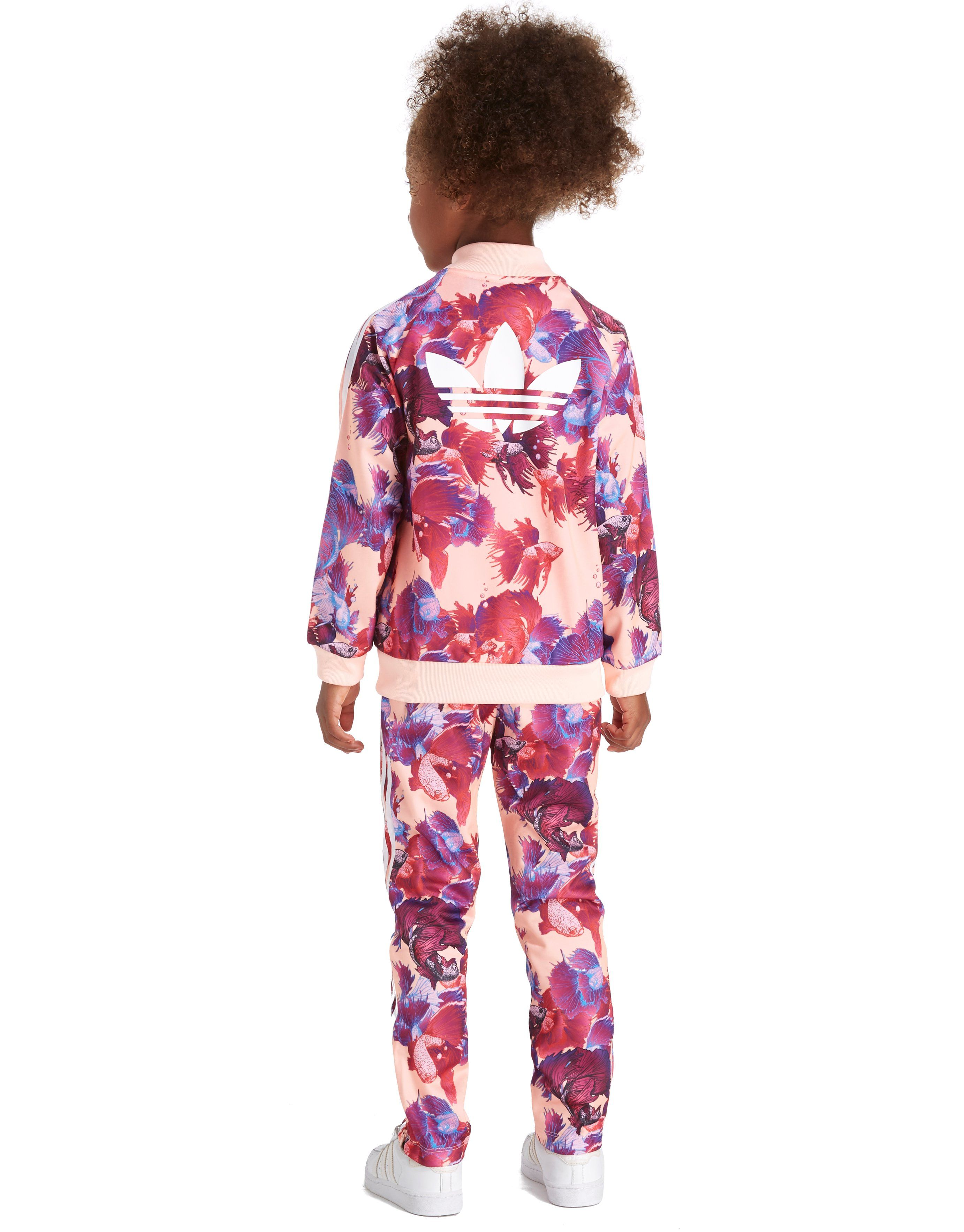 adidas Originals Girls' FARM Firebird Tracksuit Infant