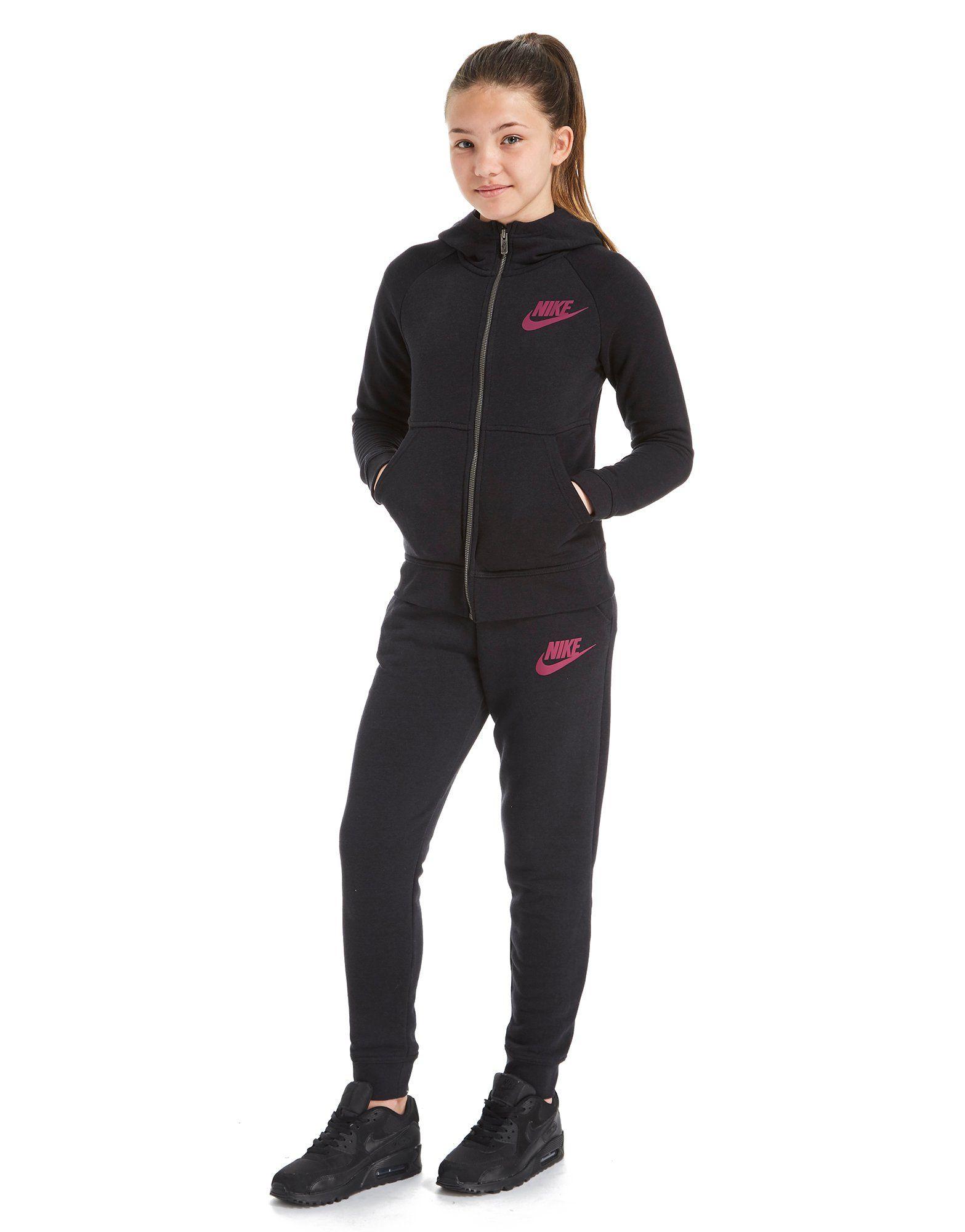 Nike Girls' Modern Full Zip Hoodie Junior
