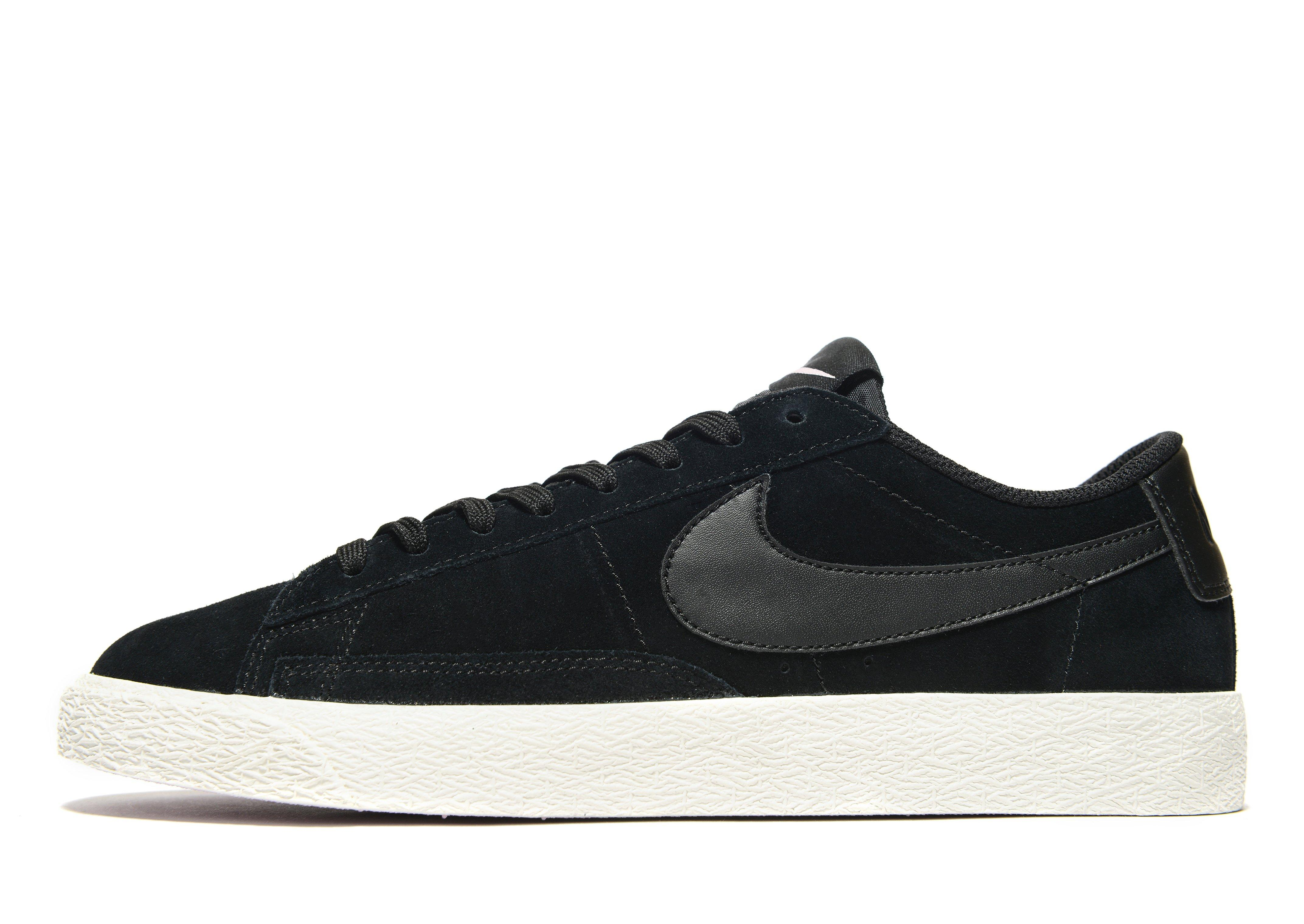 Bas Noir Nike Blazer