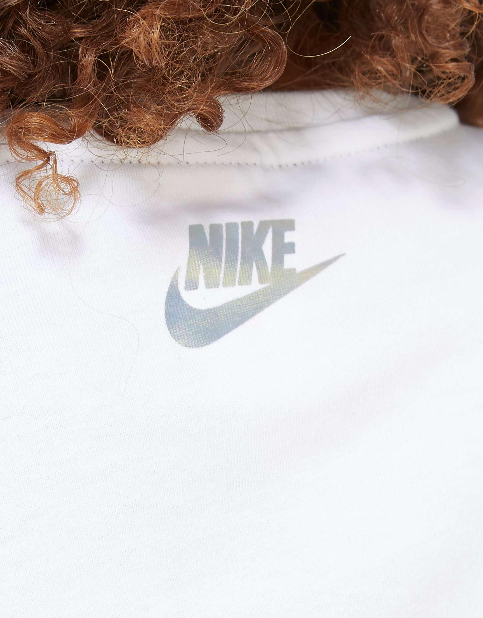 Nike Hologram Crop T-Shirt