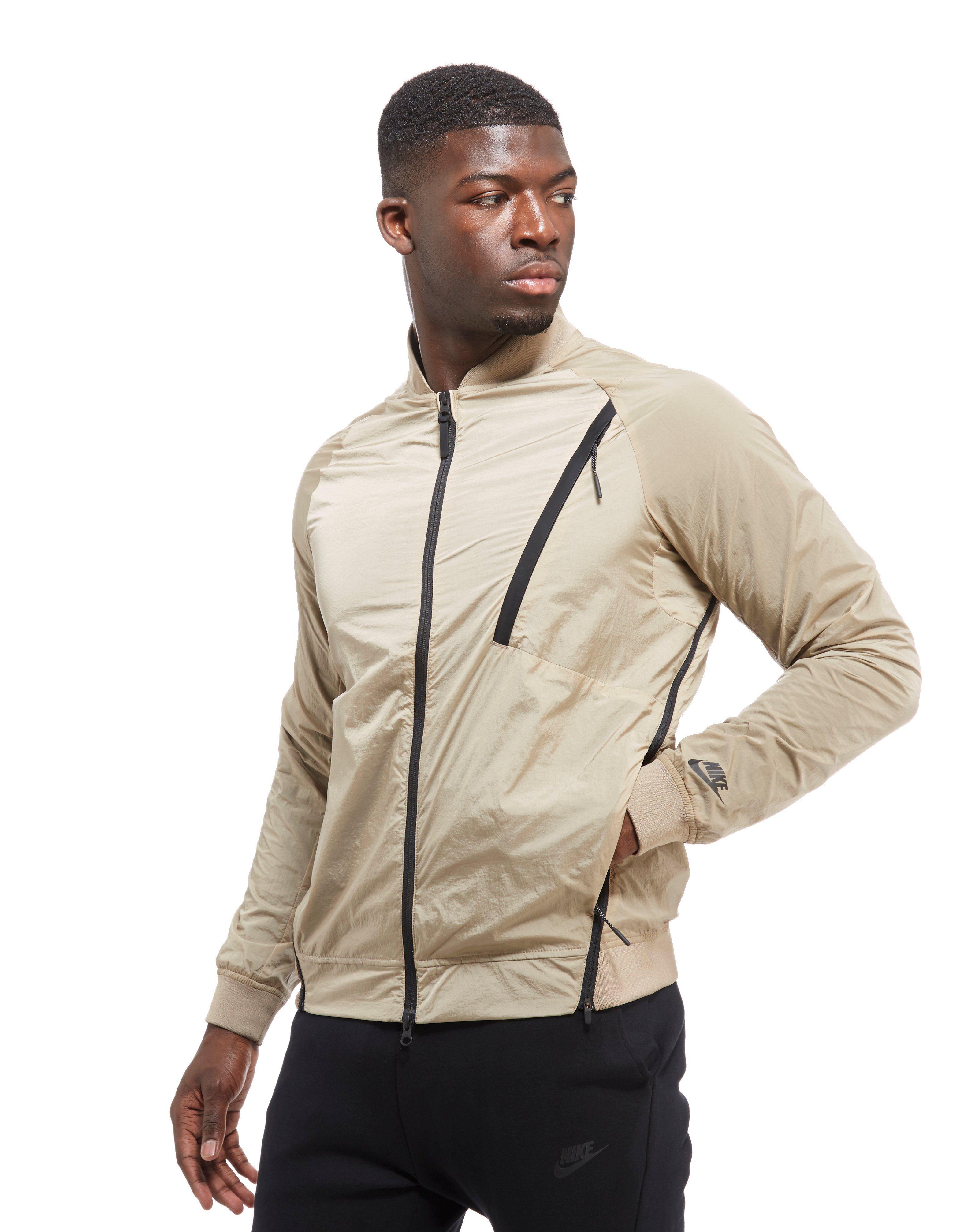 Nike jackets cheap - Nike Tech Hypermesh Varsity Jacket