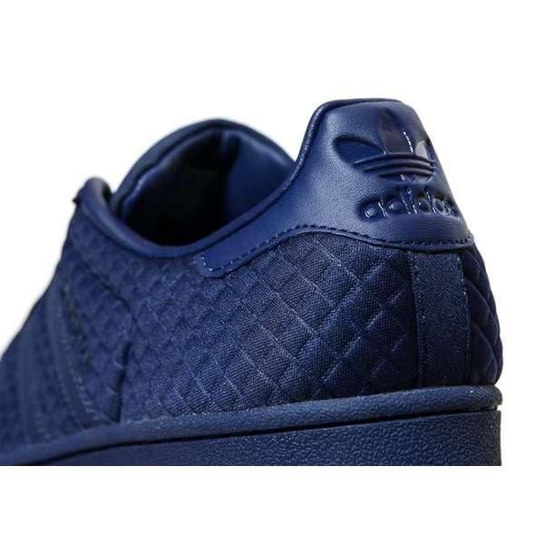 adidas superstar quilt bleu