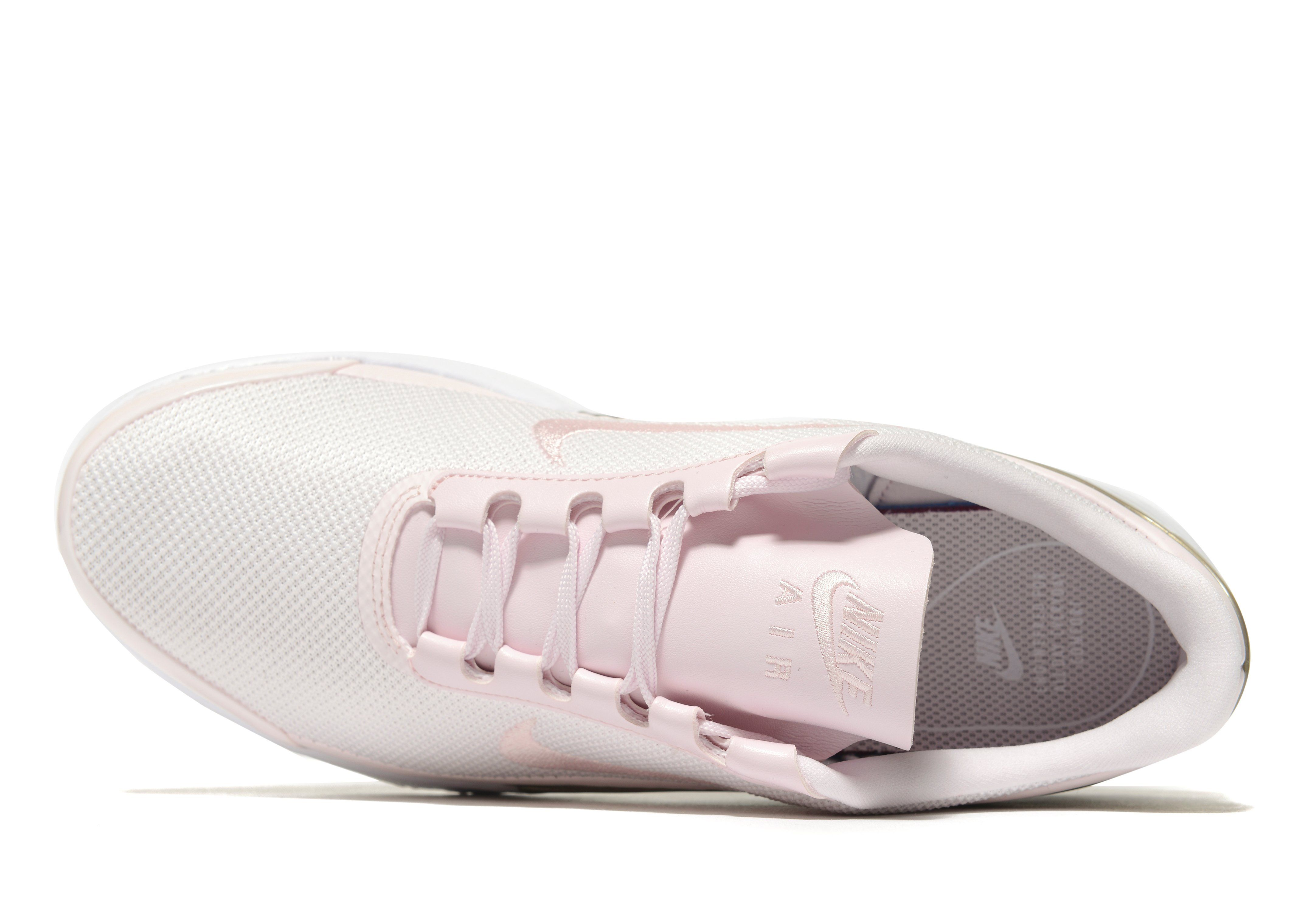 Nike Formateurs Jewell Air Max En Cuir Rose Pastel - Rose 4KXbr