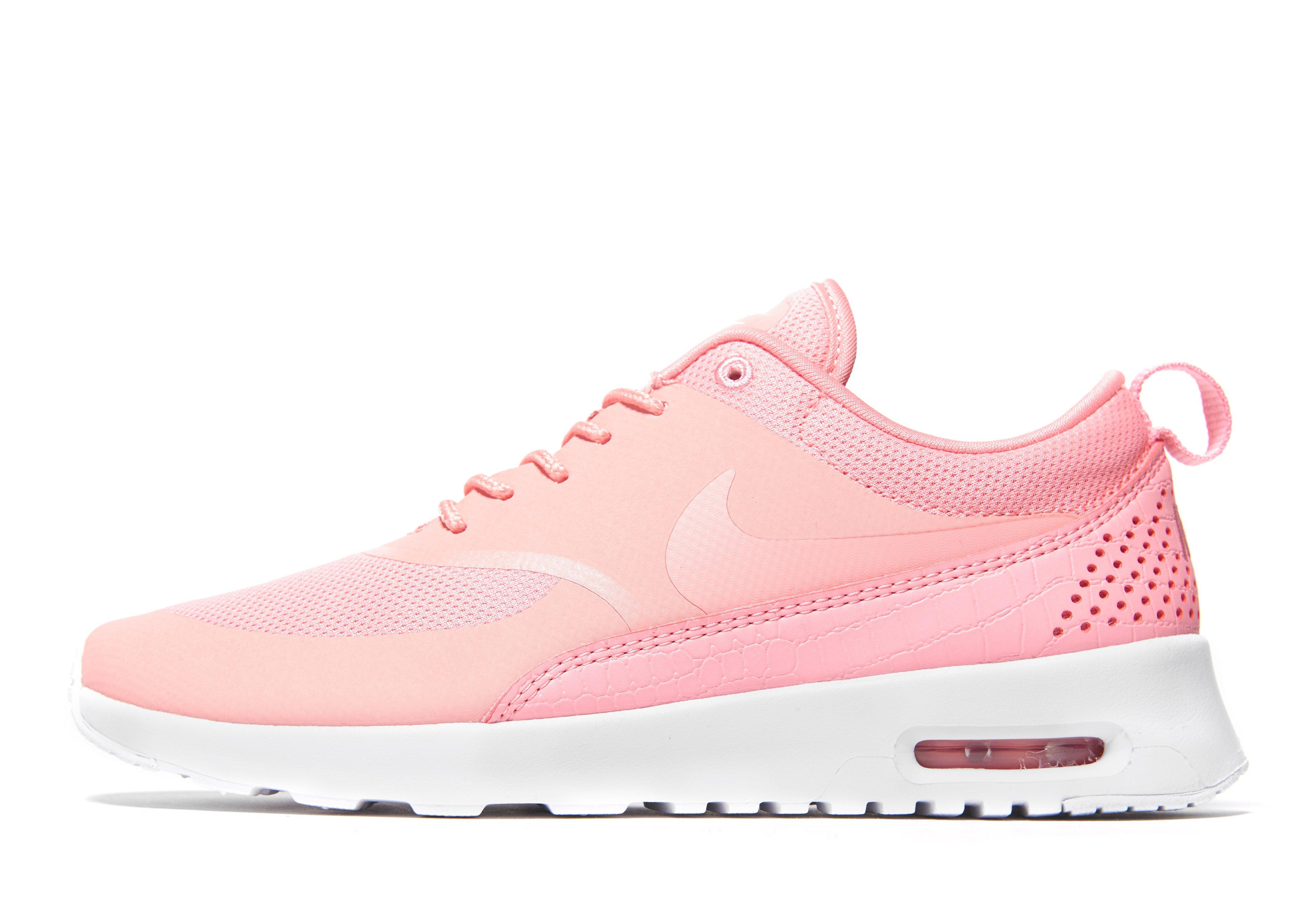 Femmes Nike Air Max Rose Formateurs De Thea Chaussures