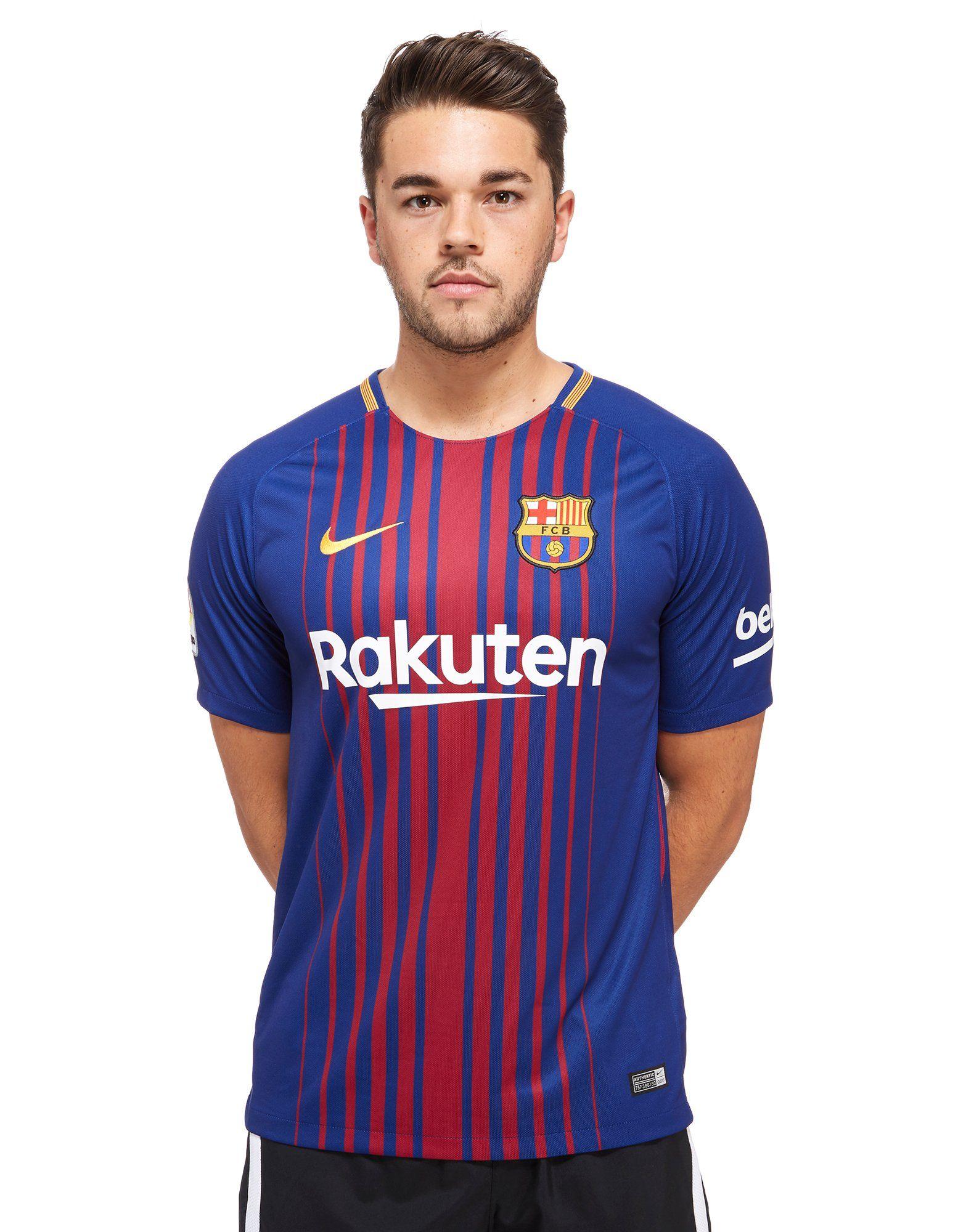 f2dc37e31 Nike Barcelona 2017 18 Home Shirt ...