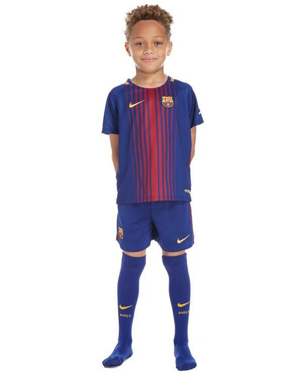 18cc4e751f4 Nike FC Barcelona 2017 18 Home Kit Children