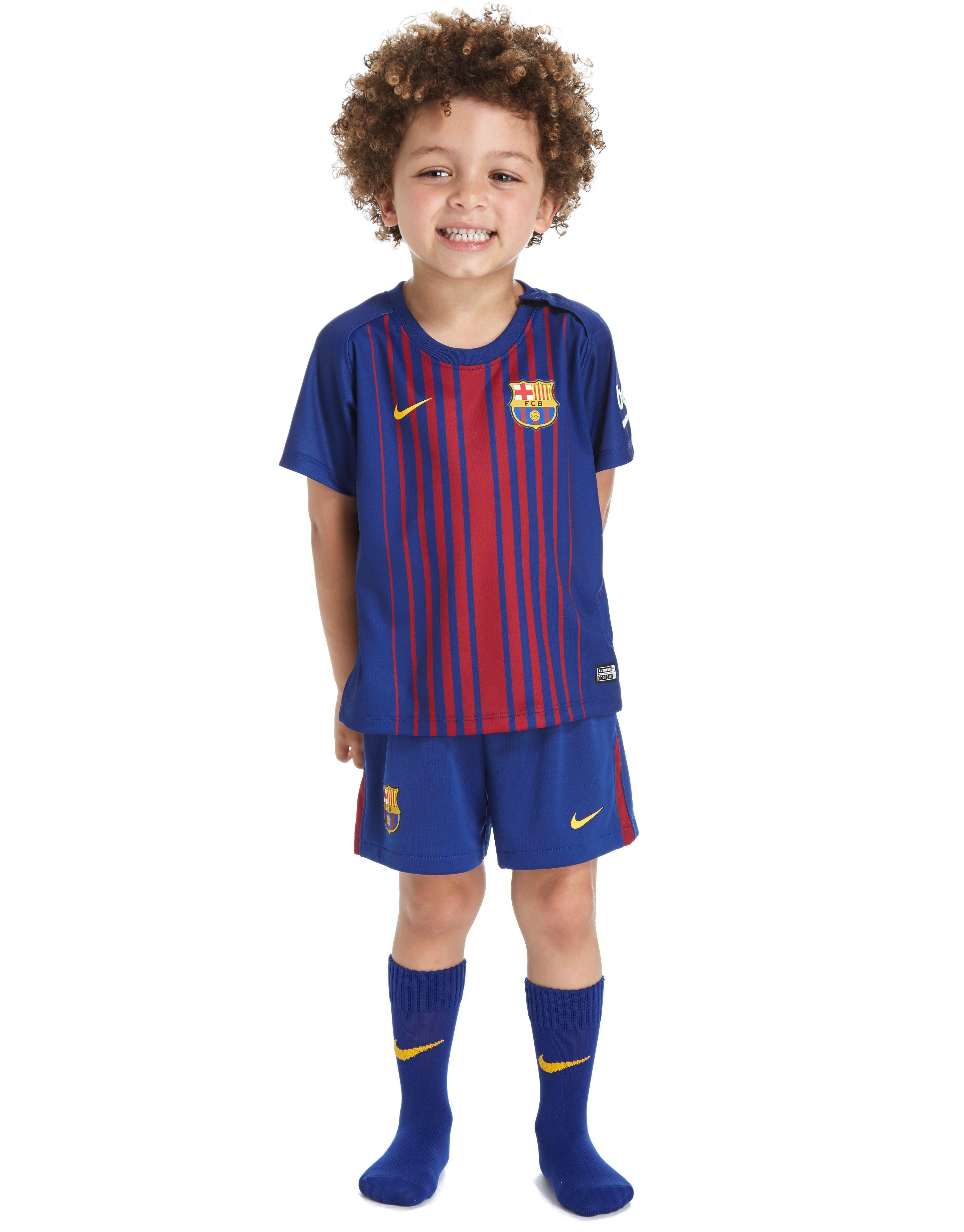 470893d5b Nike Barcelona 2017 18 Home Kit Infant ...