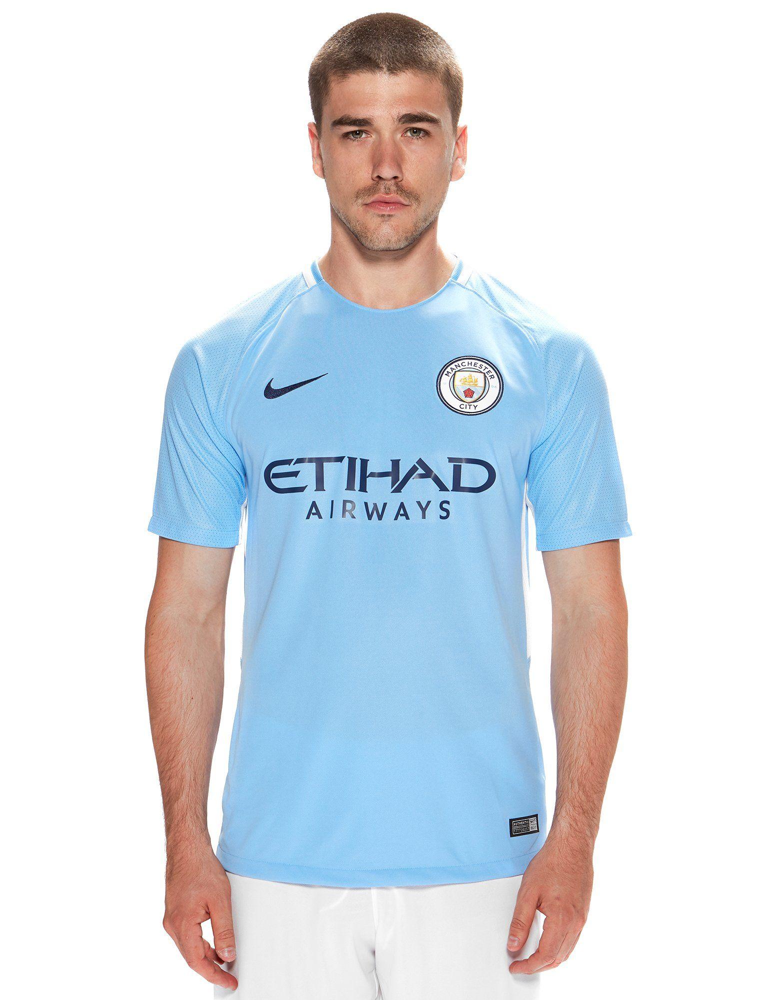 Nike Manchester City FC 2017/18 Home Shirt