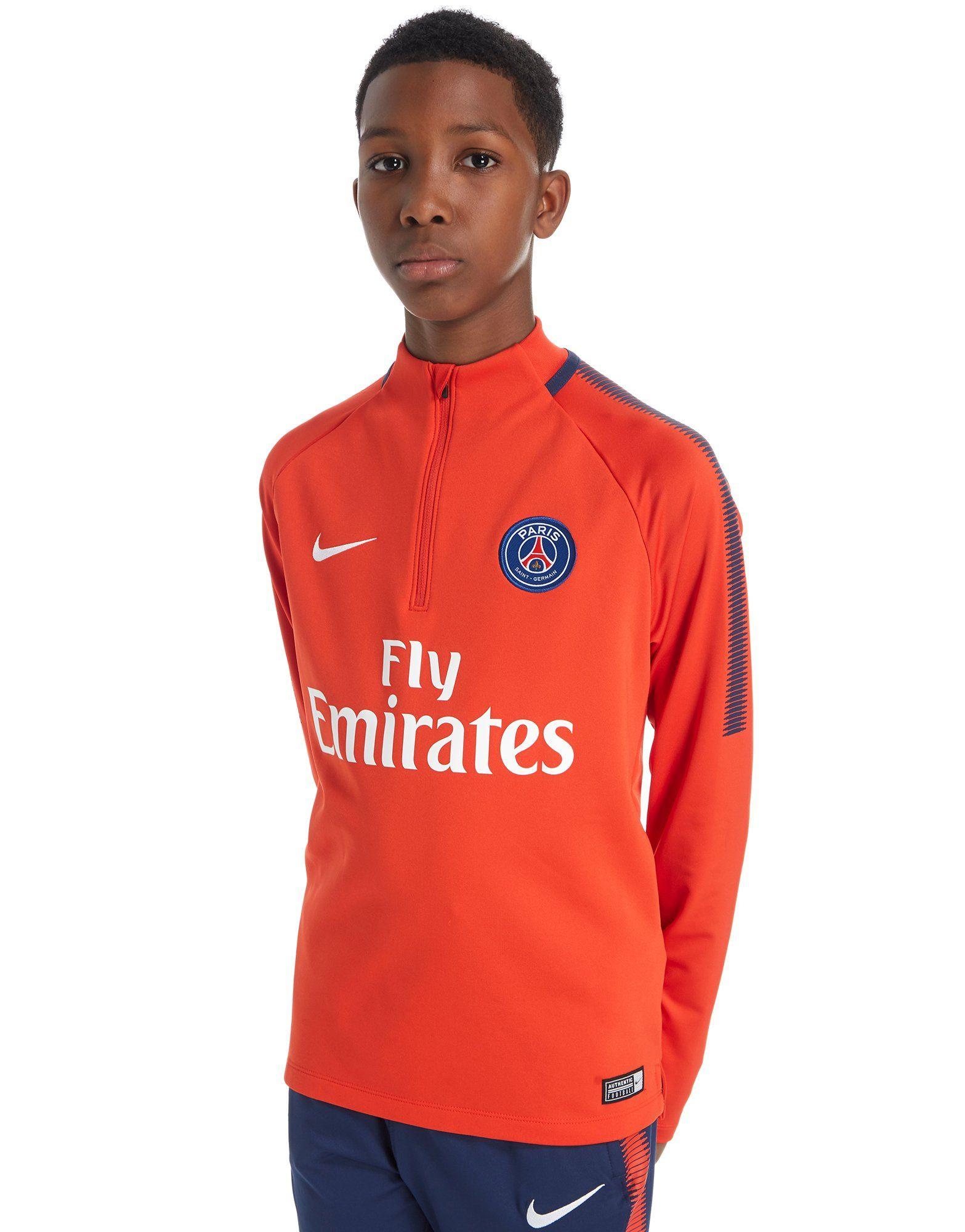 Nike Paris Saint Germain 2017/18 Squad Drill Top Junior