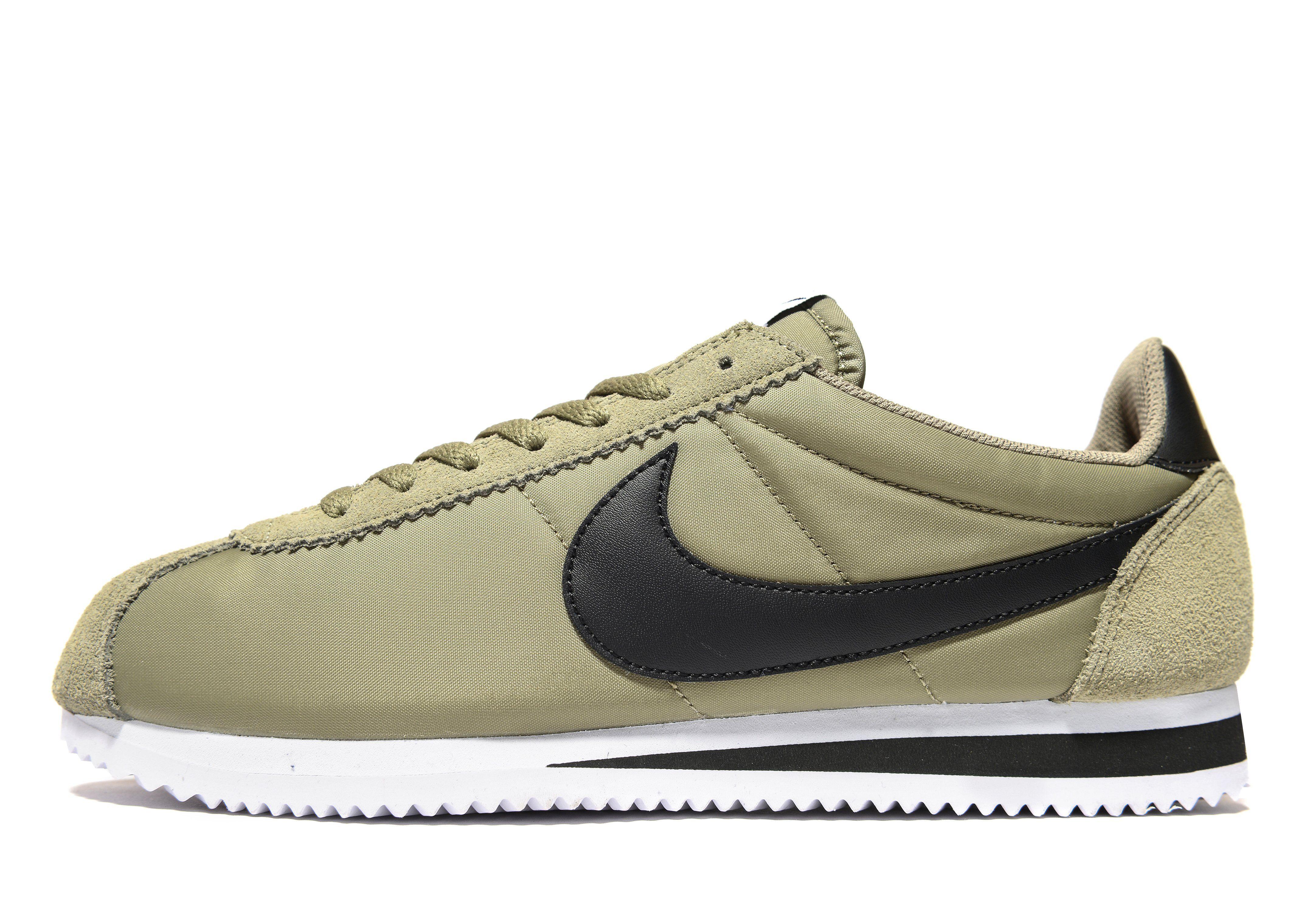 Nike Cortez White Velvet Brown