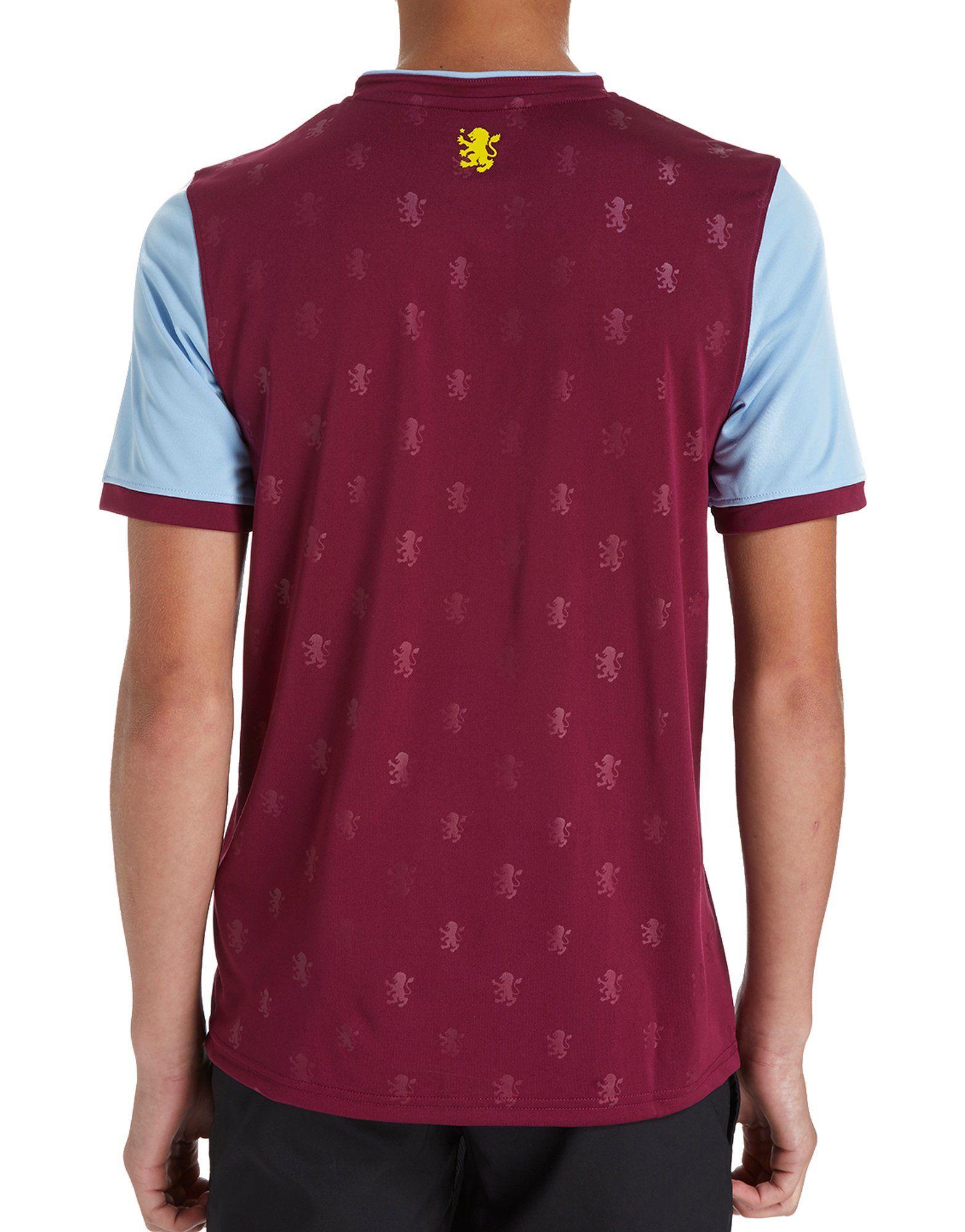 Under Armour Aston Villa Home Shirt 2017/18 Junior