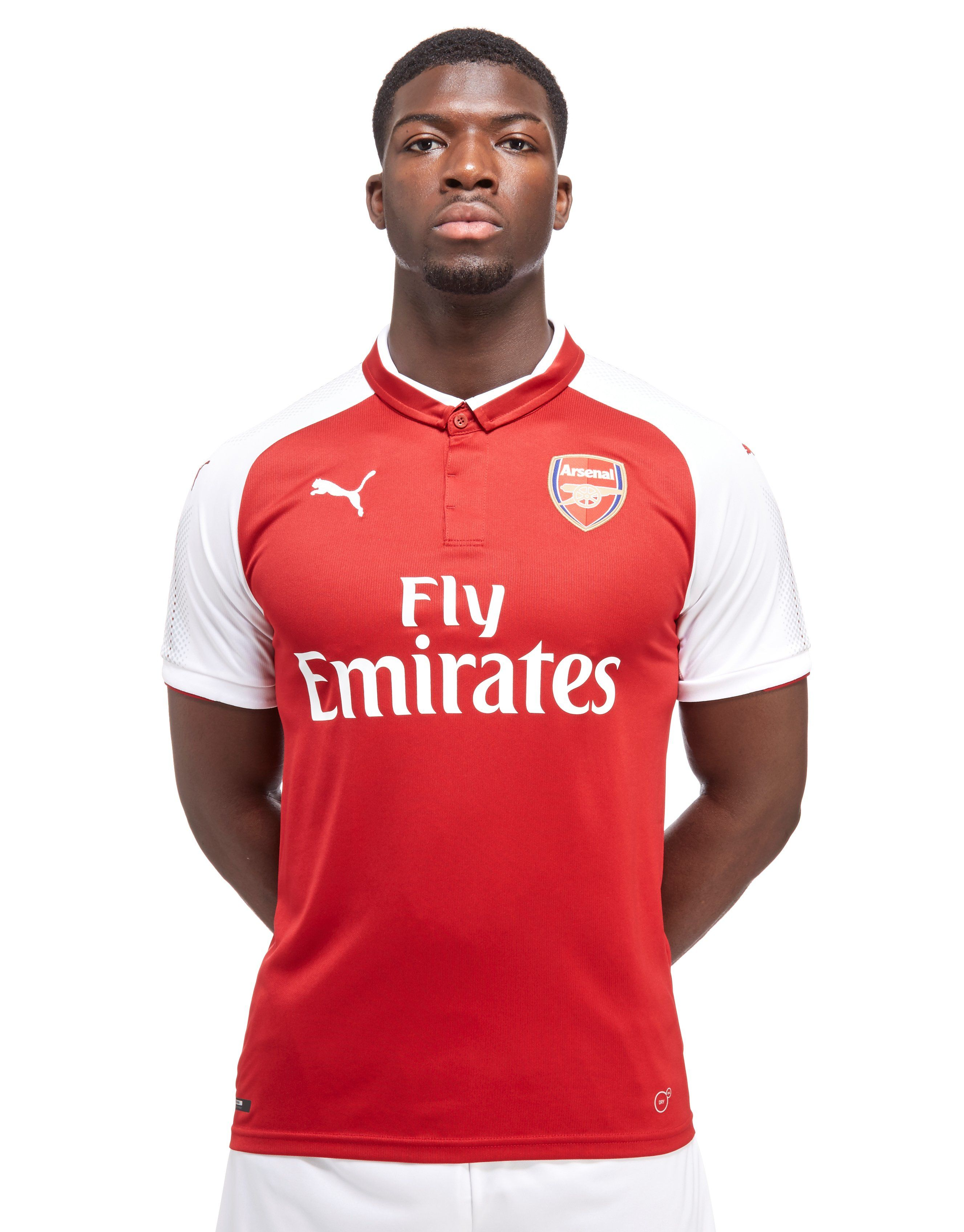 f6ee93dc270d PUMA Arsenal FC 2017 18 Home Shirt ...