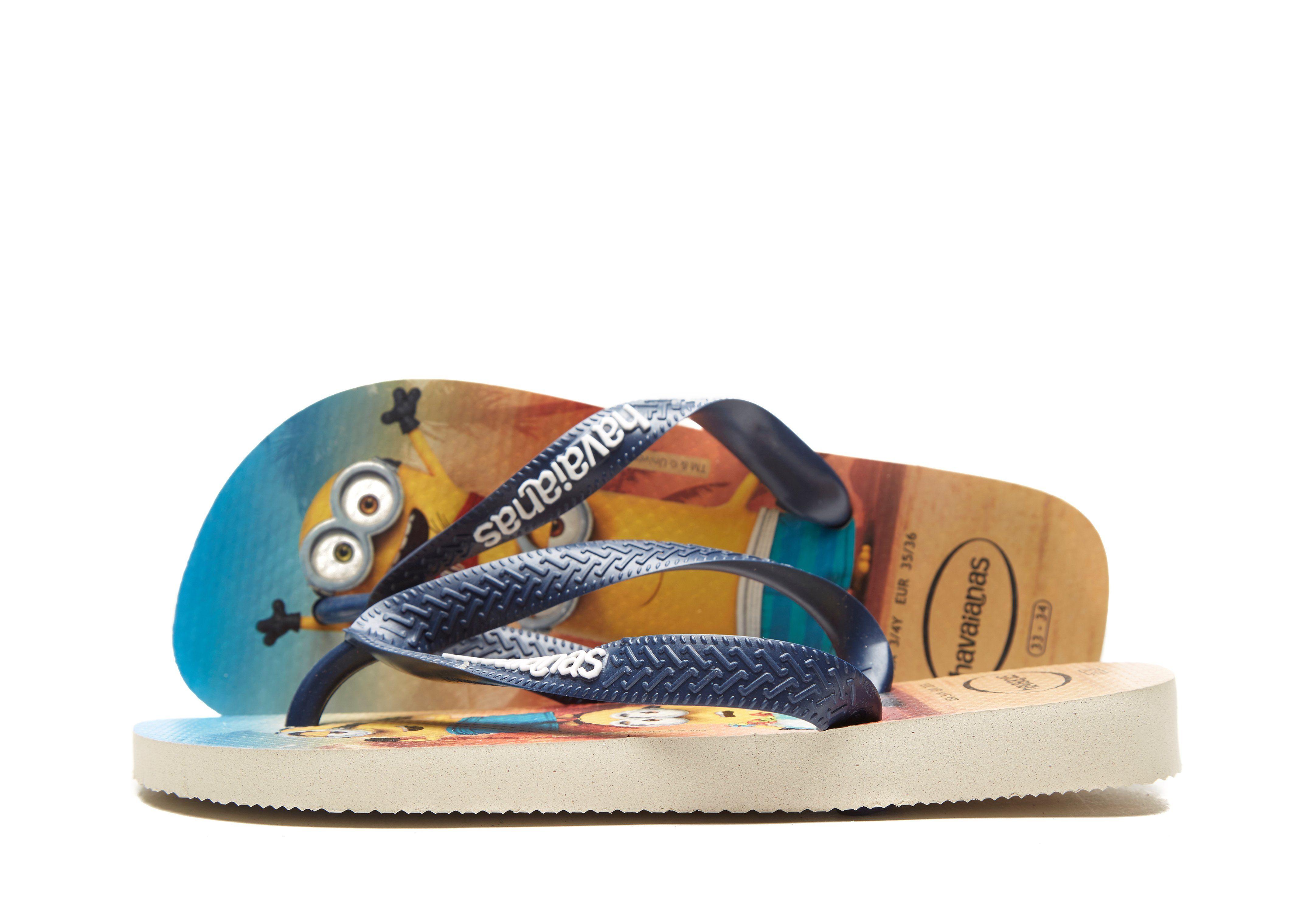 19d1ce61096a35 Havaianas Minions Flip Flops Children