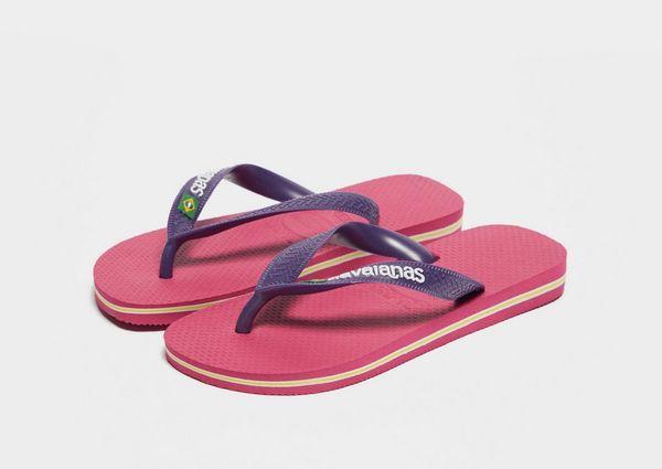 e326088384750 Havaianas Brazil Logo Flip Flops Children