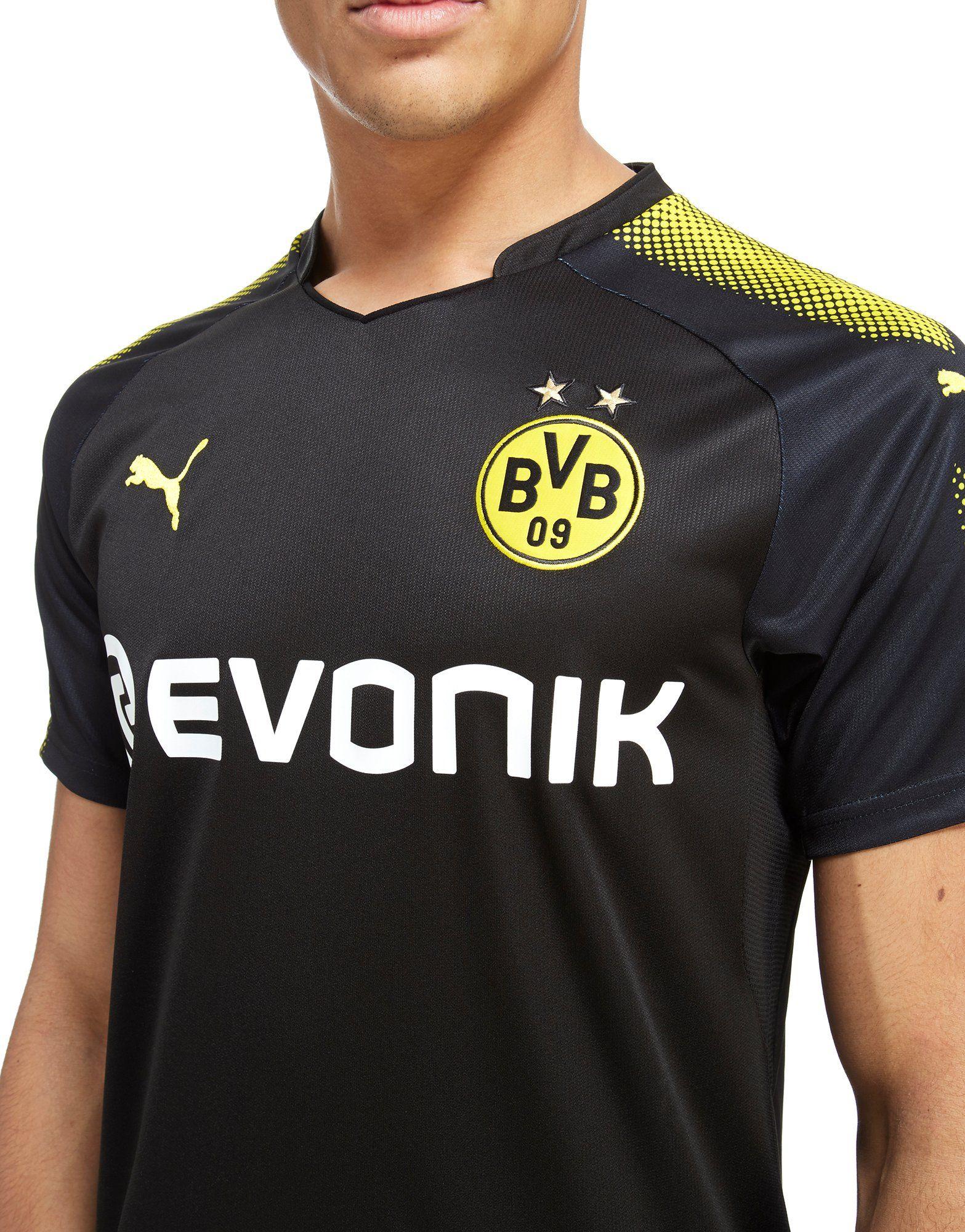 PUMA Borussia Dortmund 2017/18 Away Shirt