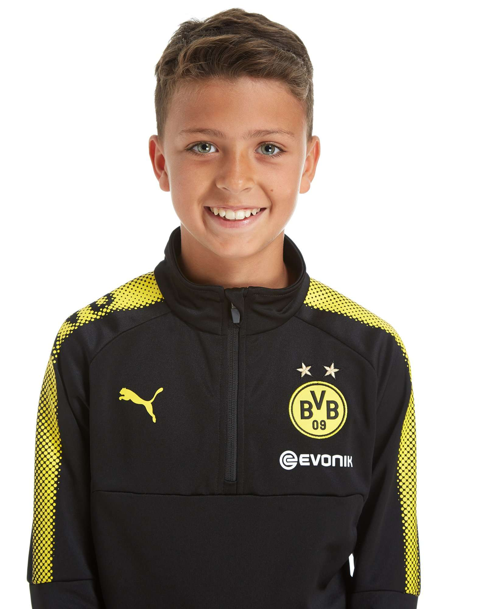 PUMA Borussia Dortmund 2017 Zip Top Junior