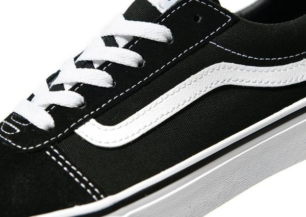 vans old skool black junior