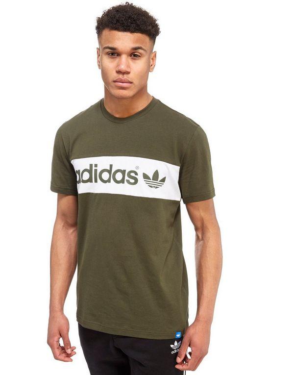 adidas t shirt block
