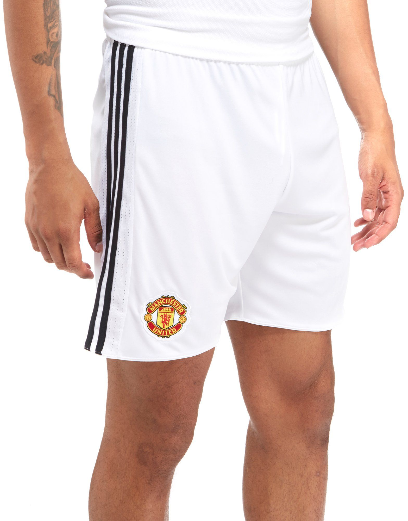 d2729d108d5 Shoptagr   Adidas Manchester United 2017 18 Home Shorts by Adidas