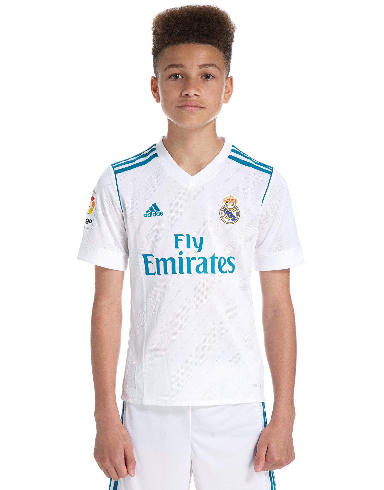 ba5790b68b7 adidas Real Madrid 2017 18 Home Shirt Junior ...